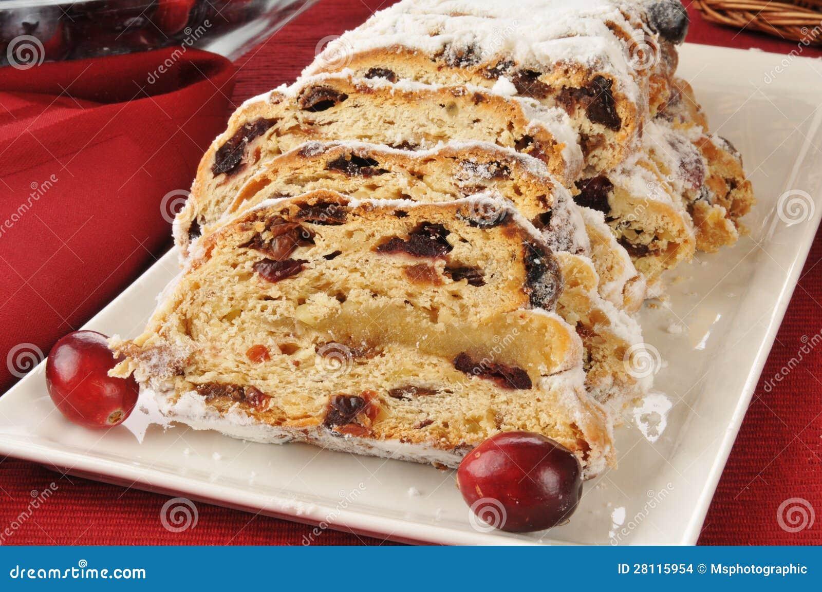 German Christmas Fruit Cake Stock Images - Image: 28115954
