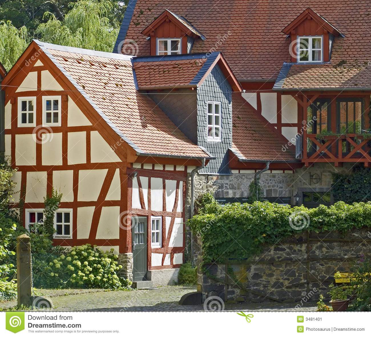 German farm houses
