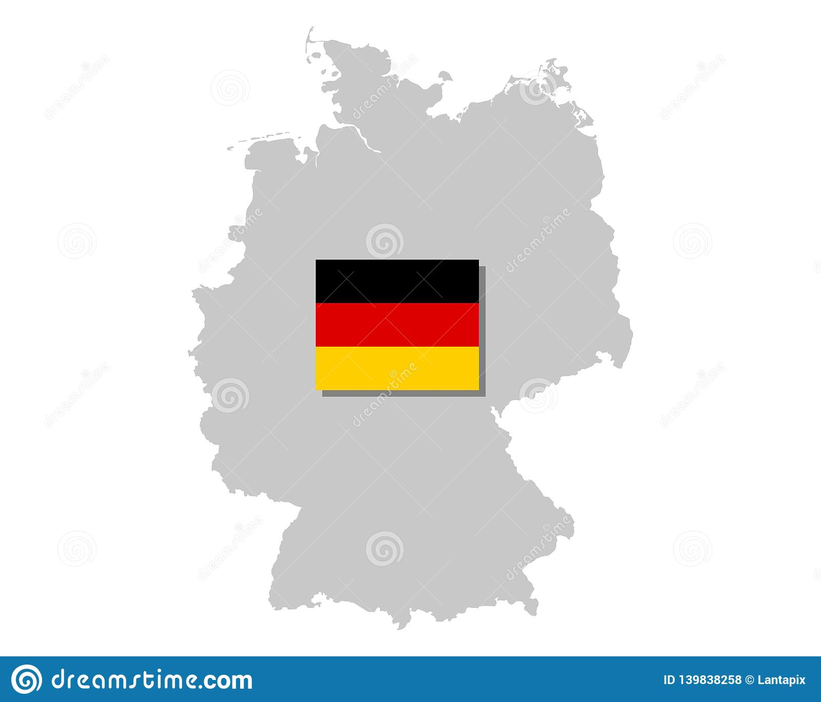 German flag and map stock vector. Illustration of black ... on german flags of the world, germany map, state flags map, rhine river map, england map, german stereotypes, german world war 1 map, german state flags,