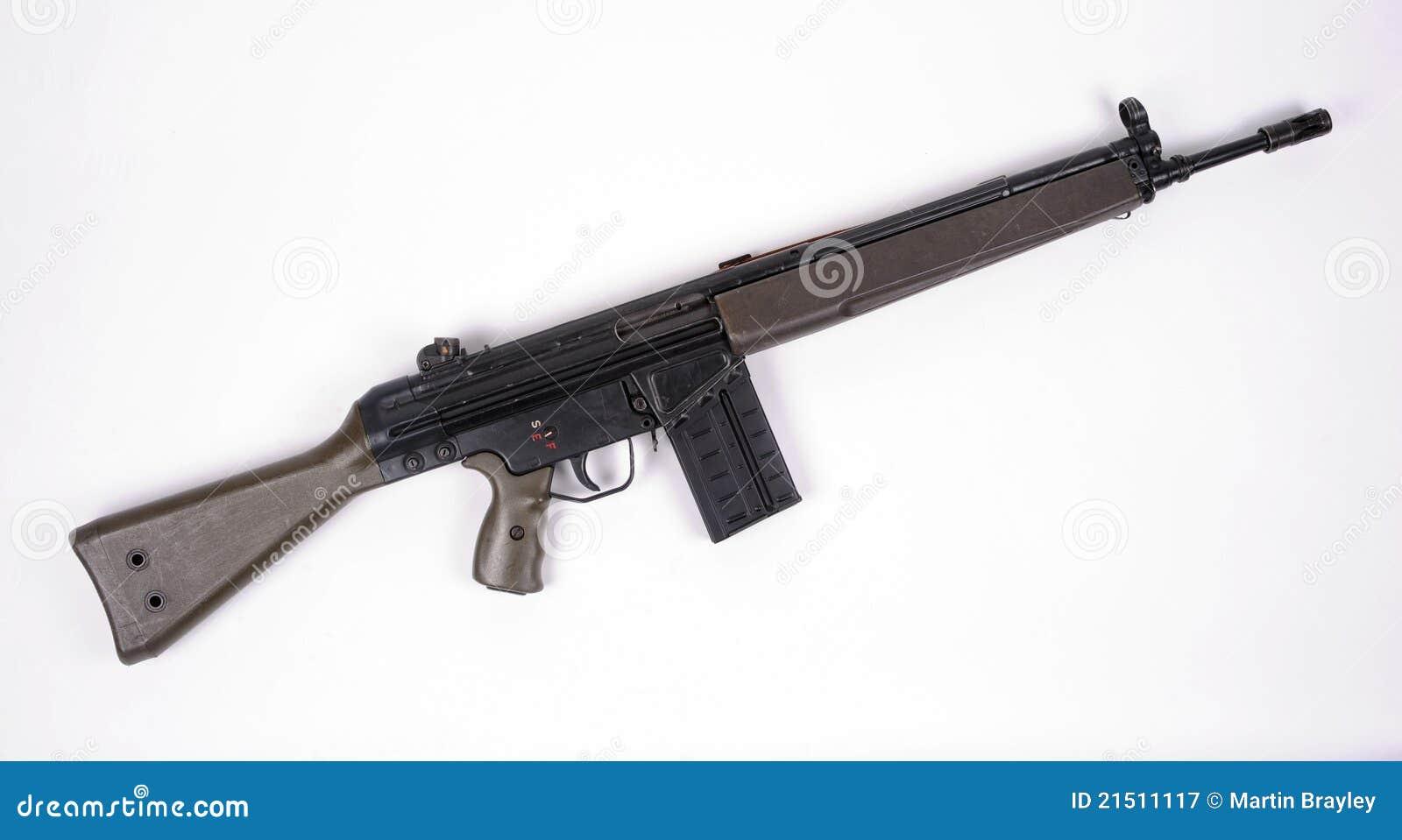 German G3 assault rifle.