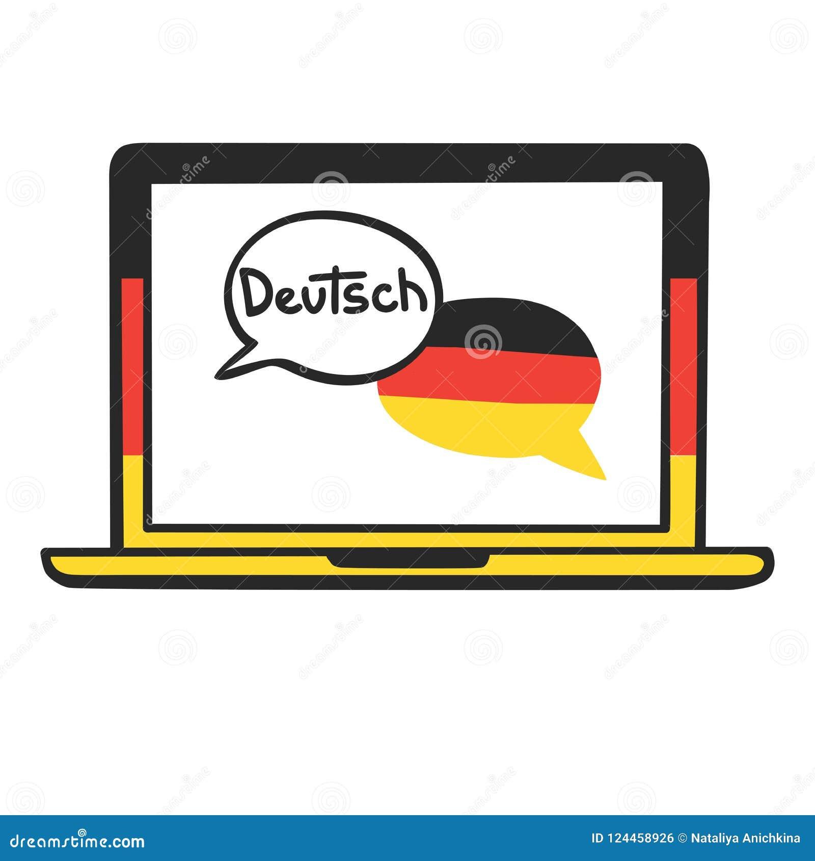 German  stock vector  Illustration of foreign, emblem