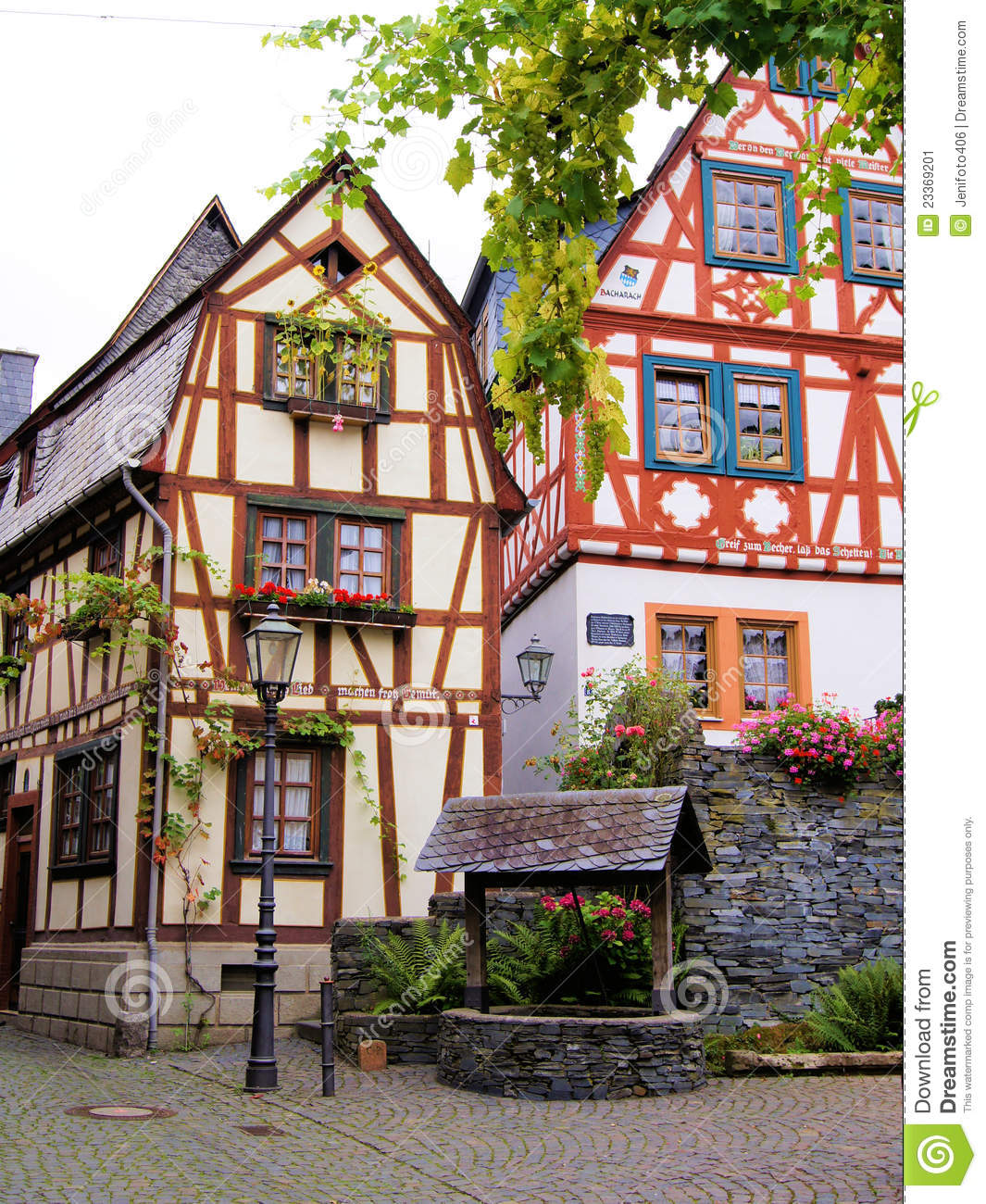 German half timbered houses stock image image 23369201 for Half timbered house plans