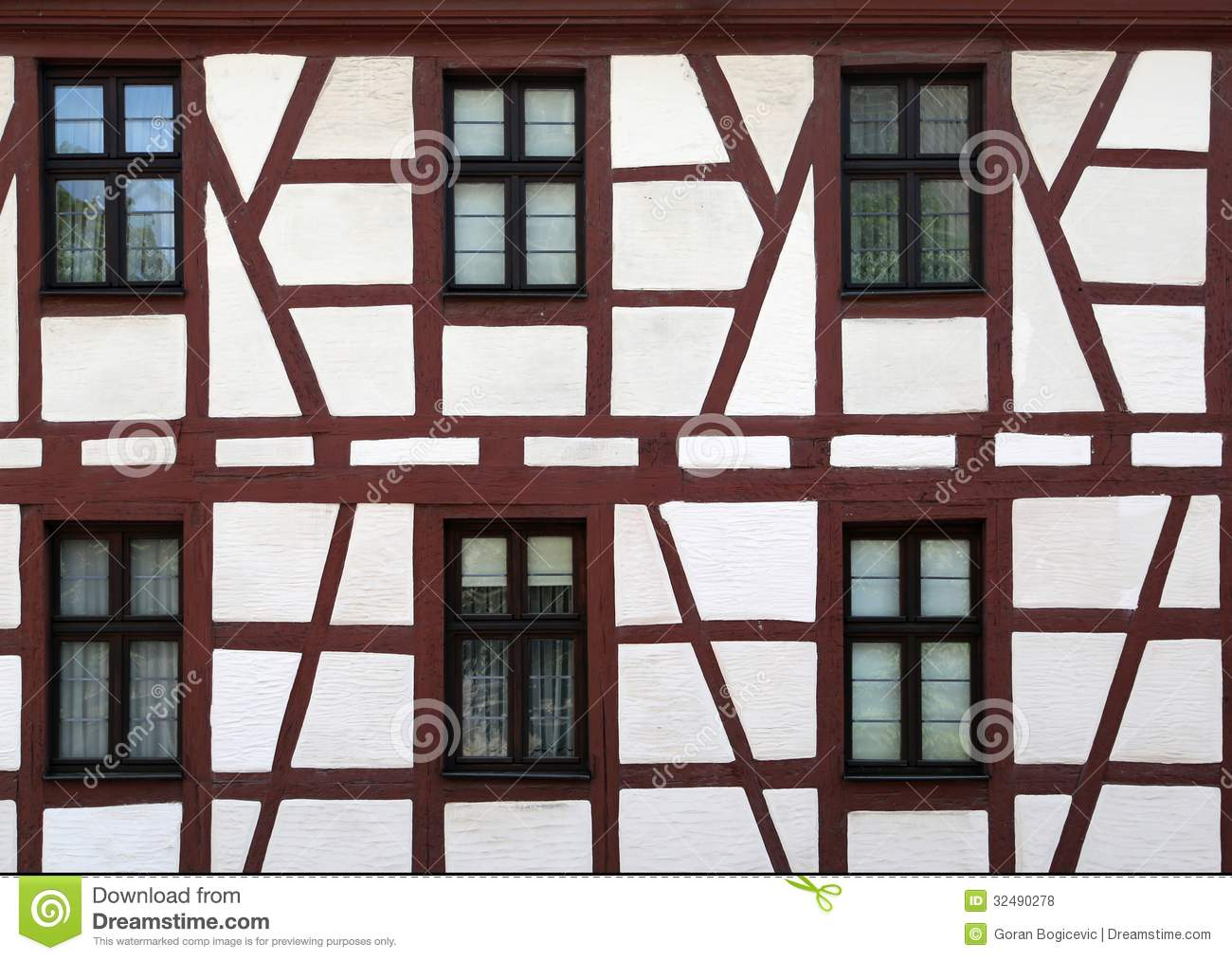 German house royalty free stock photos image 32490278 for Window in german