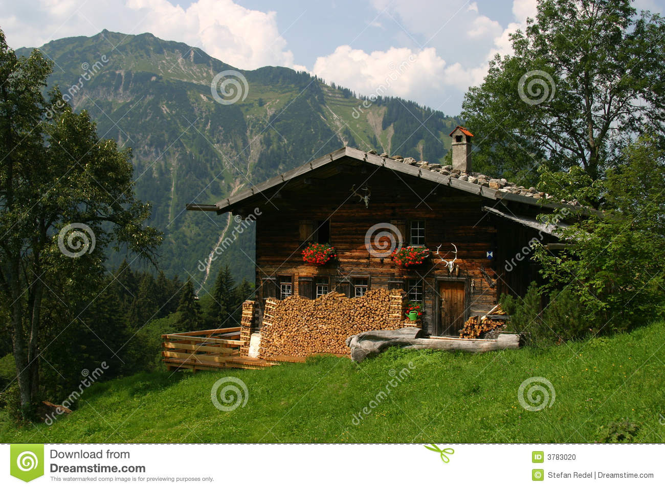 German House in the mountains