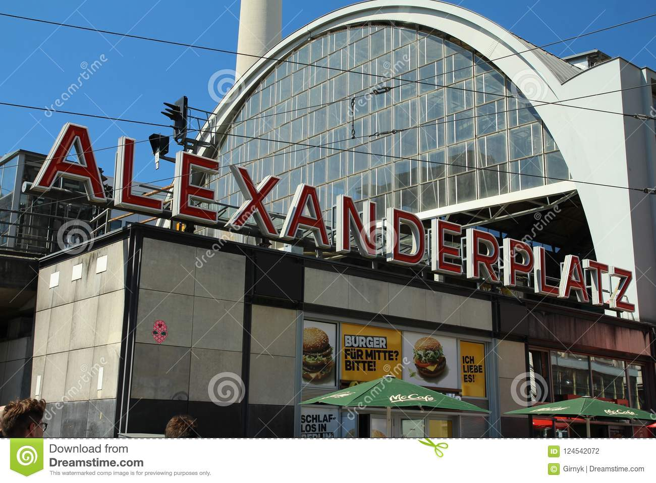 Berlin Alexanderplatz And Tv Tower Editorial Photography Image Of