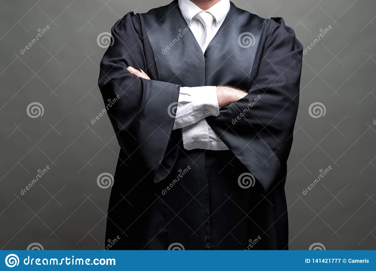 German Lawyer With A Robe Stock Image Image Of Dispute 141421777