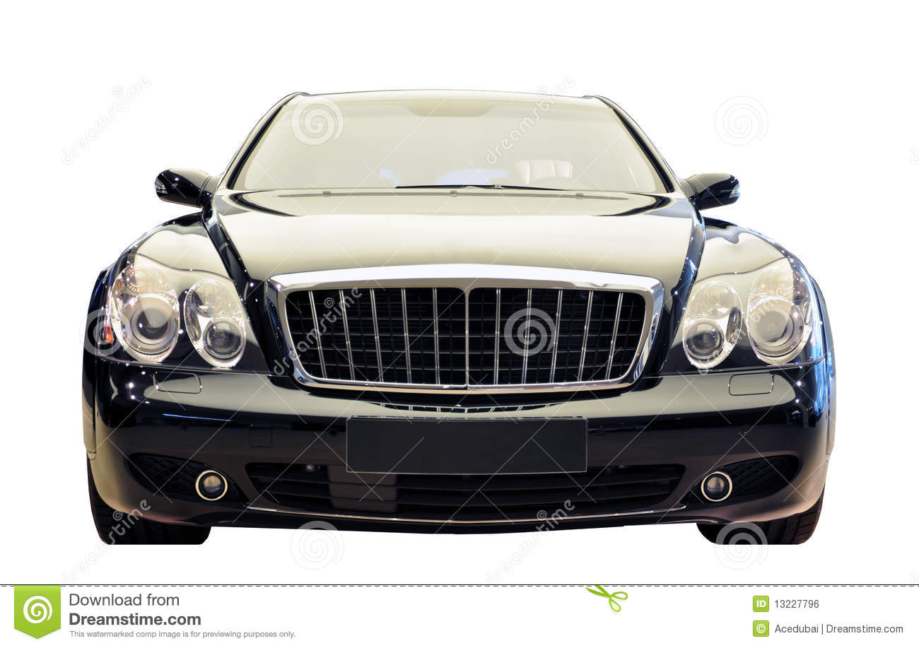 German Luxury Car Front View Cutout Stock Photo Image Of Cutout
