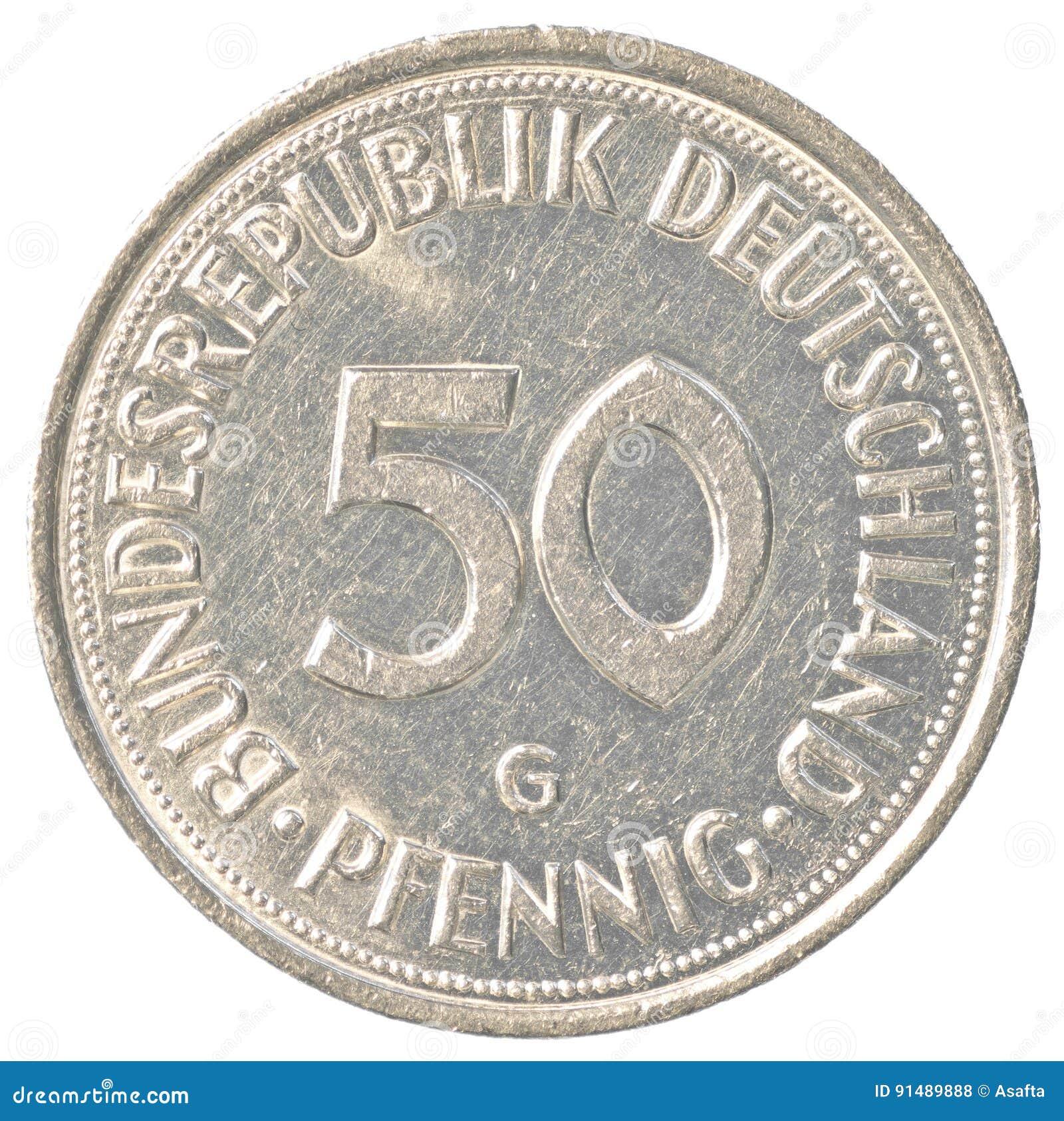 50 german mark pfennig coin stock photo image of exchange 50 german mark pfennig coin buycottarizona