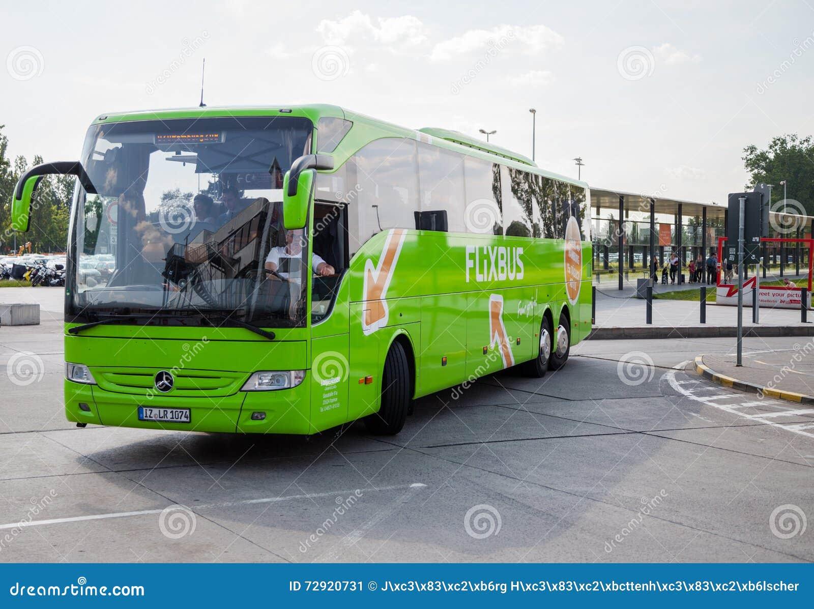 German Mercedes Benz Bus From Flixbus Editorial Photo ...