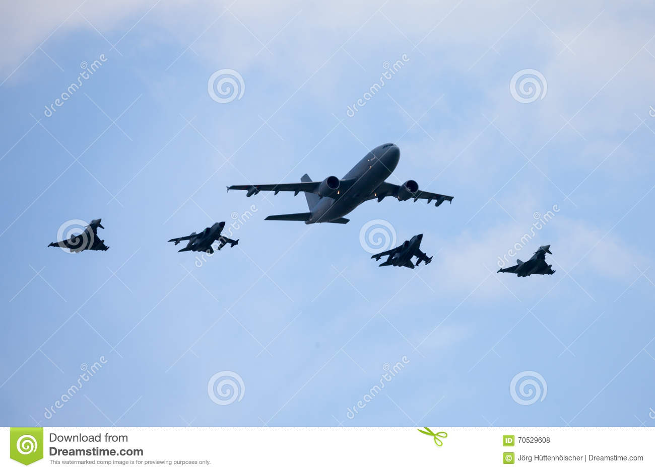 German military planes and attack jets on berlin air show Design attack berlin