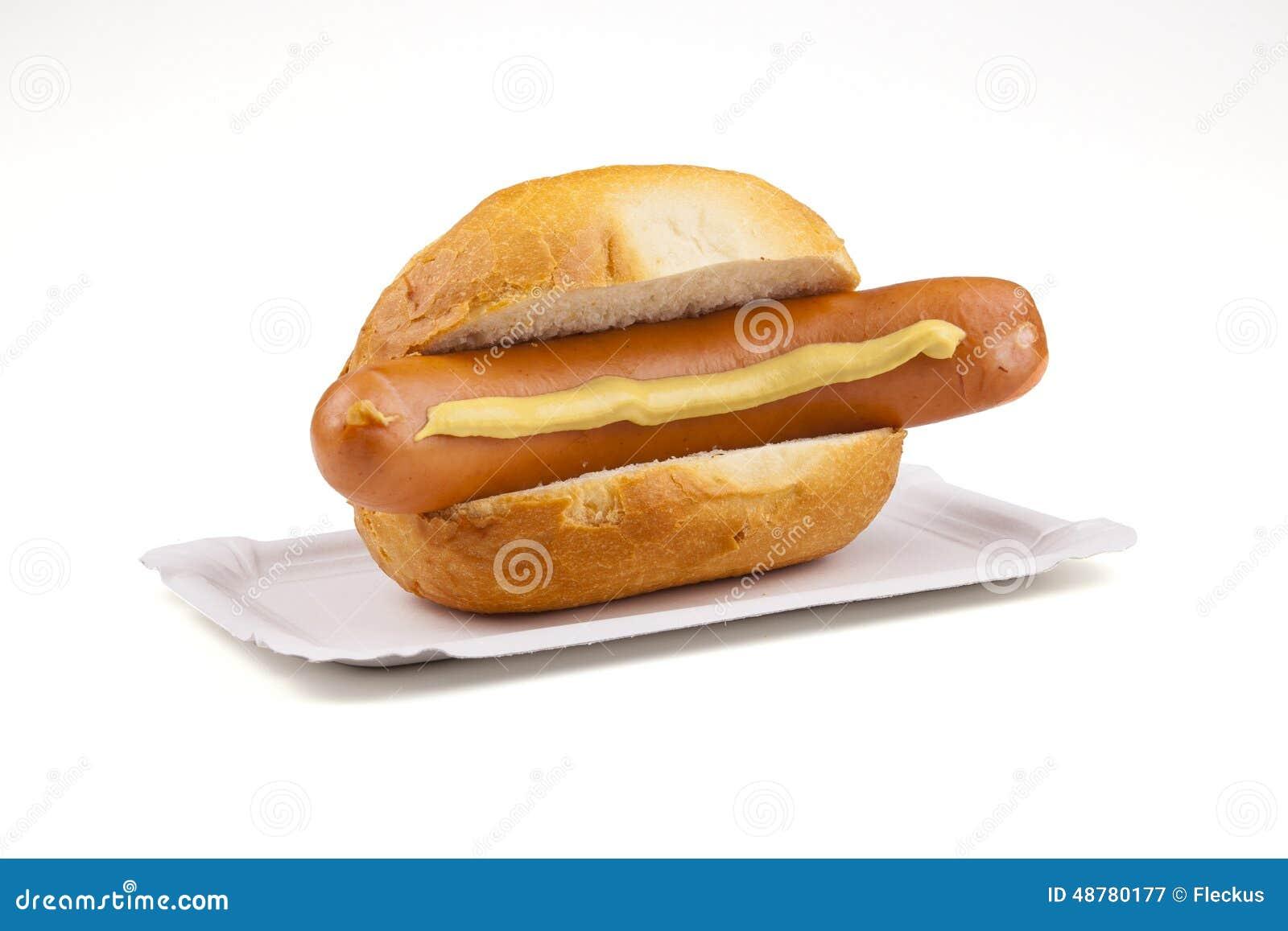 German Sausage - Deutsche Bockwurst Stock Image