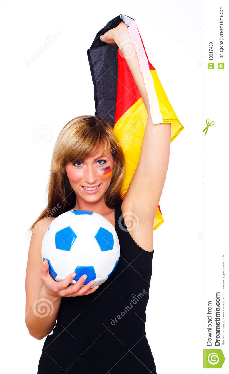German Soccer Fan Royalty Free Stock Photos - Image: 13817498