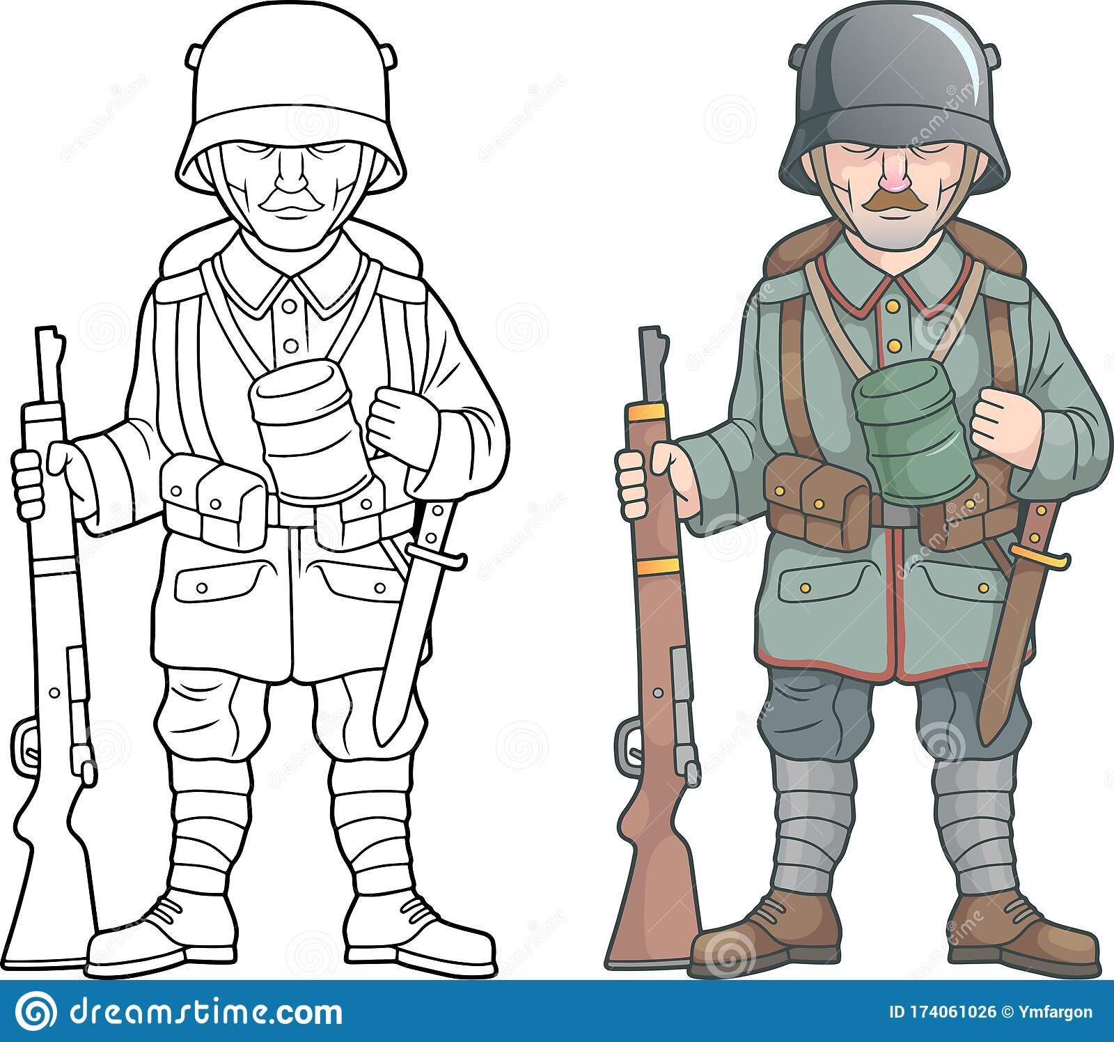 World War Soldier Drawing Stock Illustrations 383 World War Soldier Drawing Stock Illustrations Vectors Clipart Dreamstime