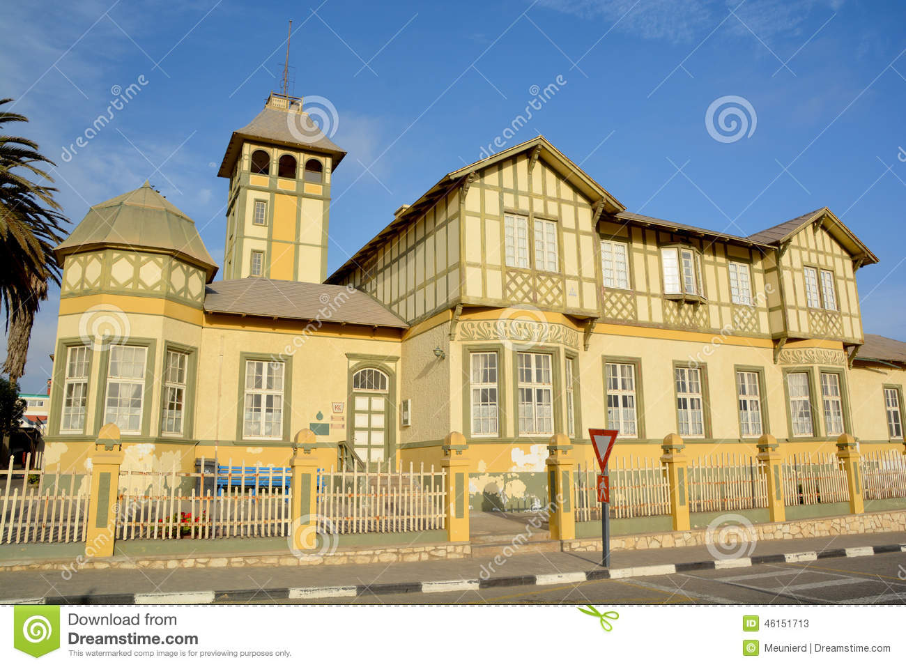 German Style House Editorial Stock Photo Image 46151713