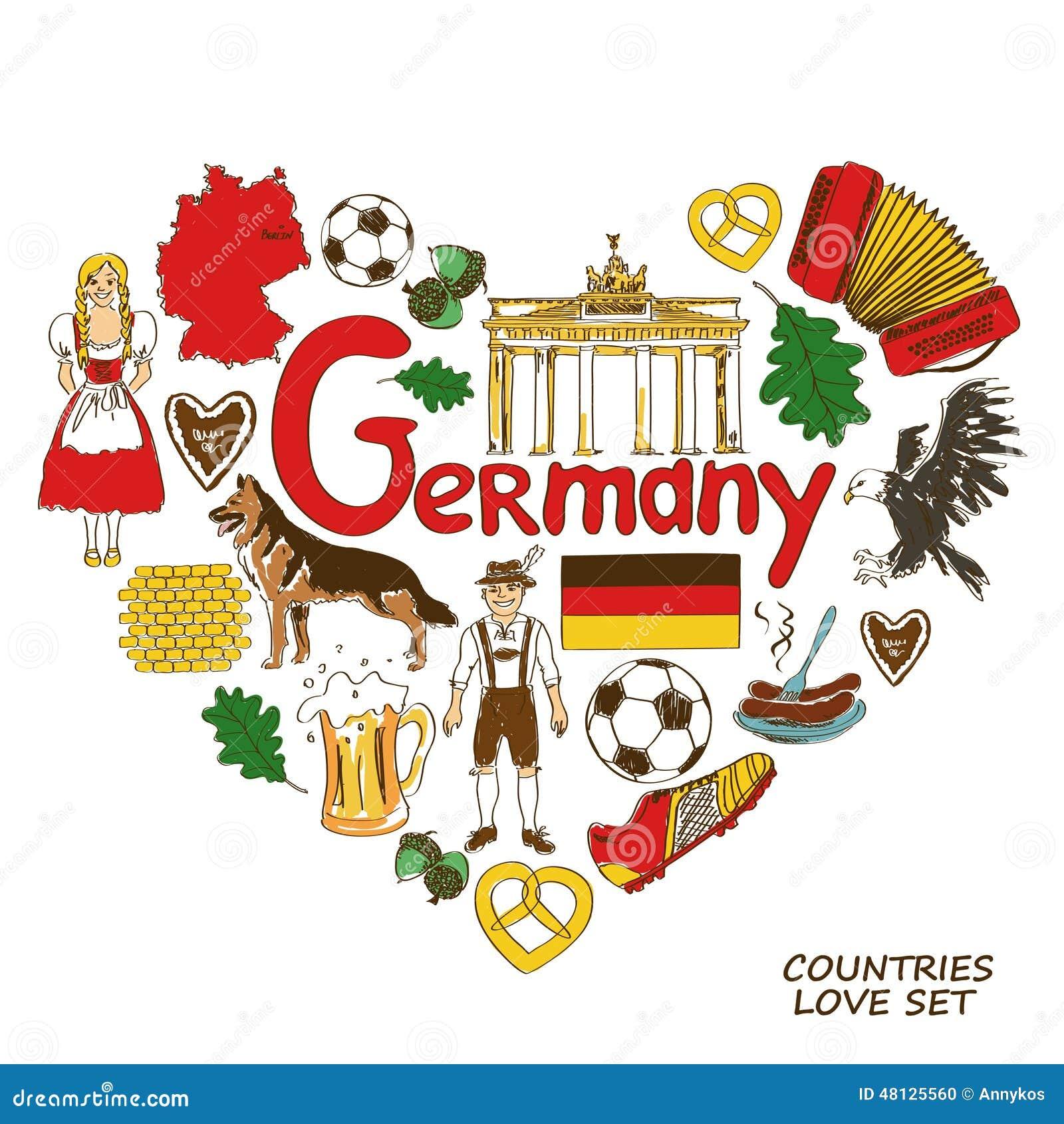 Symbole Deutsch