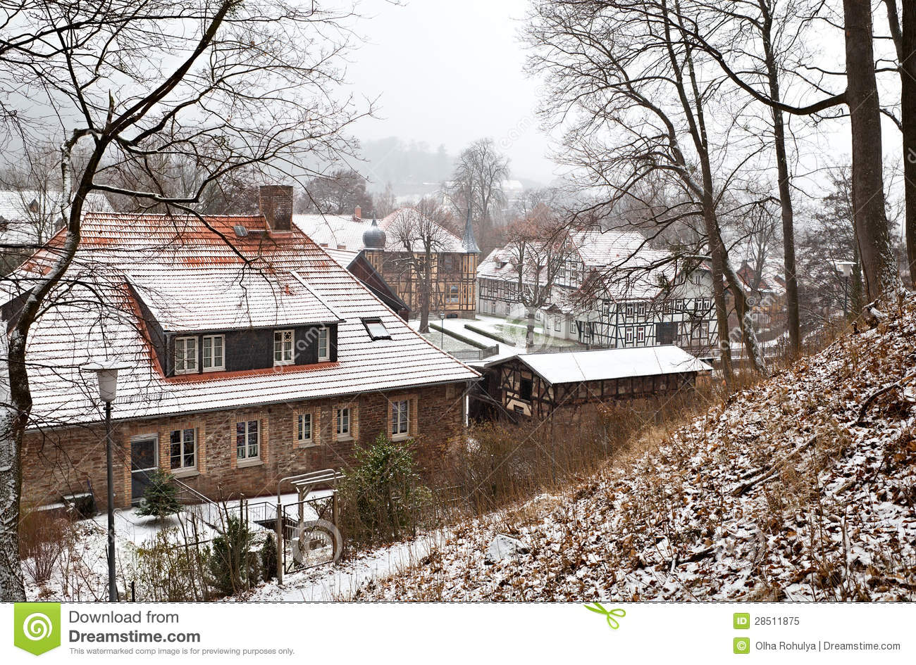 Ilsenburg Germany  city images : German Town Ilsenburg In De Harz Royalty Free Stock Photo Image ...