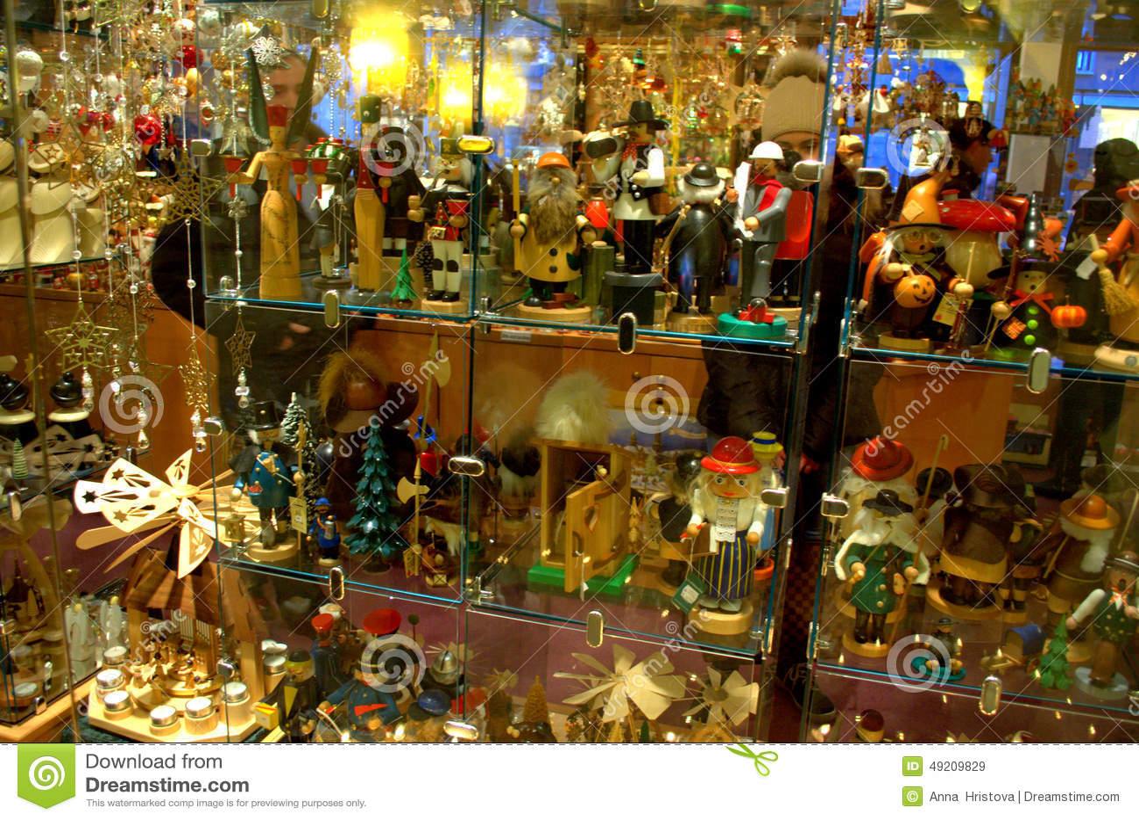 german toys shop editorial stock image