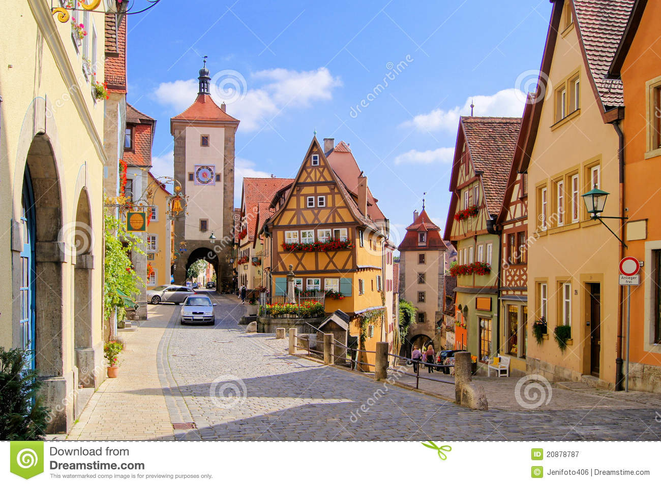 German Village Royalty Free Stock Photography Image