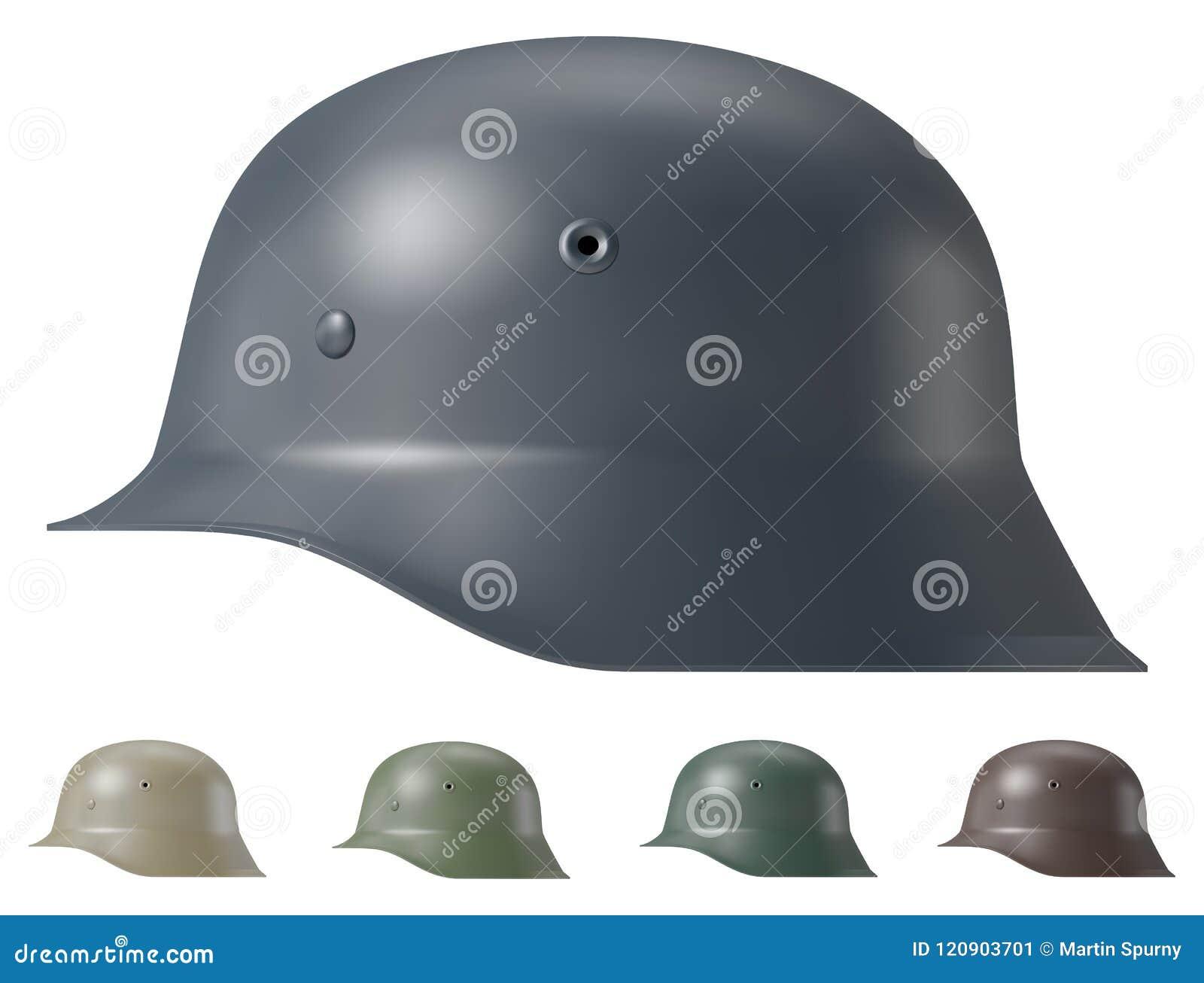 German ww2 military helmet stock vector  Illustration of blitzkrieg