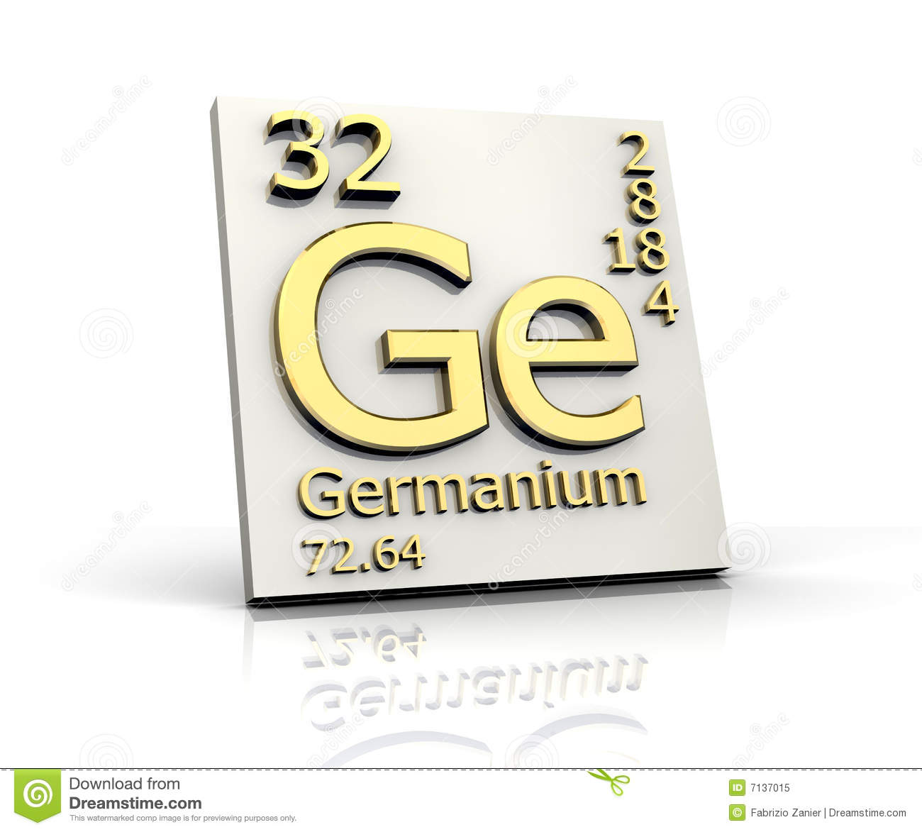 Germanium cartoons illustrations vector stock images for Table of elements 85