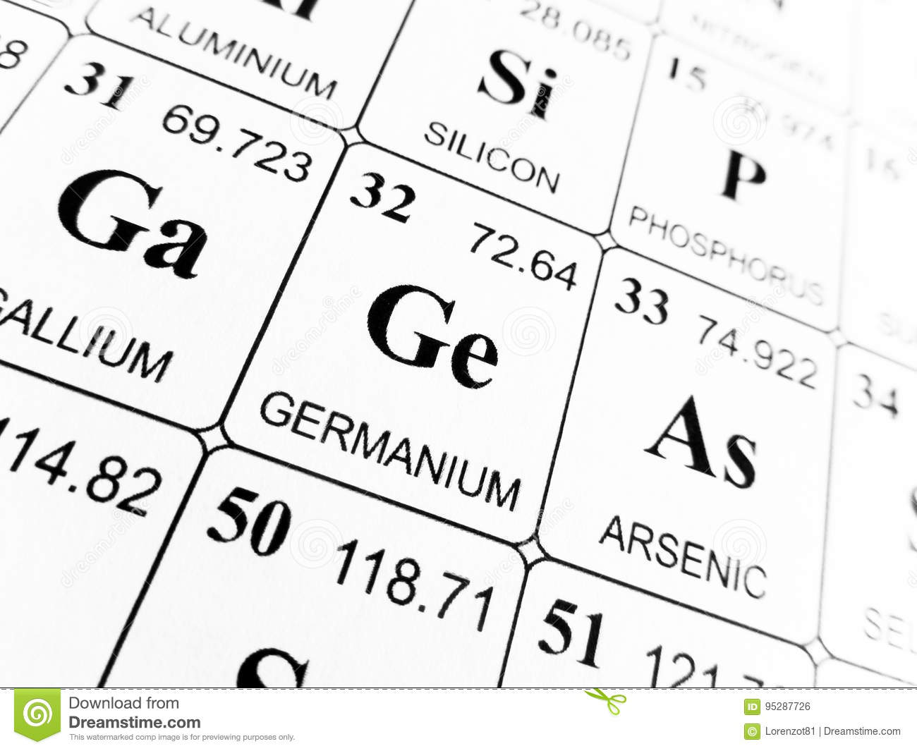 Germanium on the periodic table gallery periodic table images germanium on the periodic table of the elements stock photo germanium periodic table gamestrikefo gallery gamestrikefo Image collections