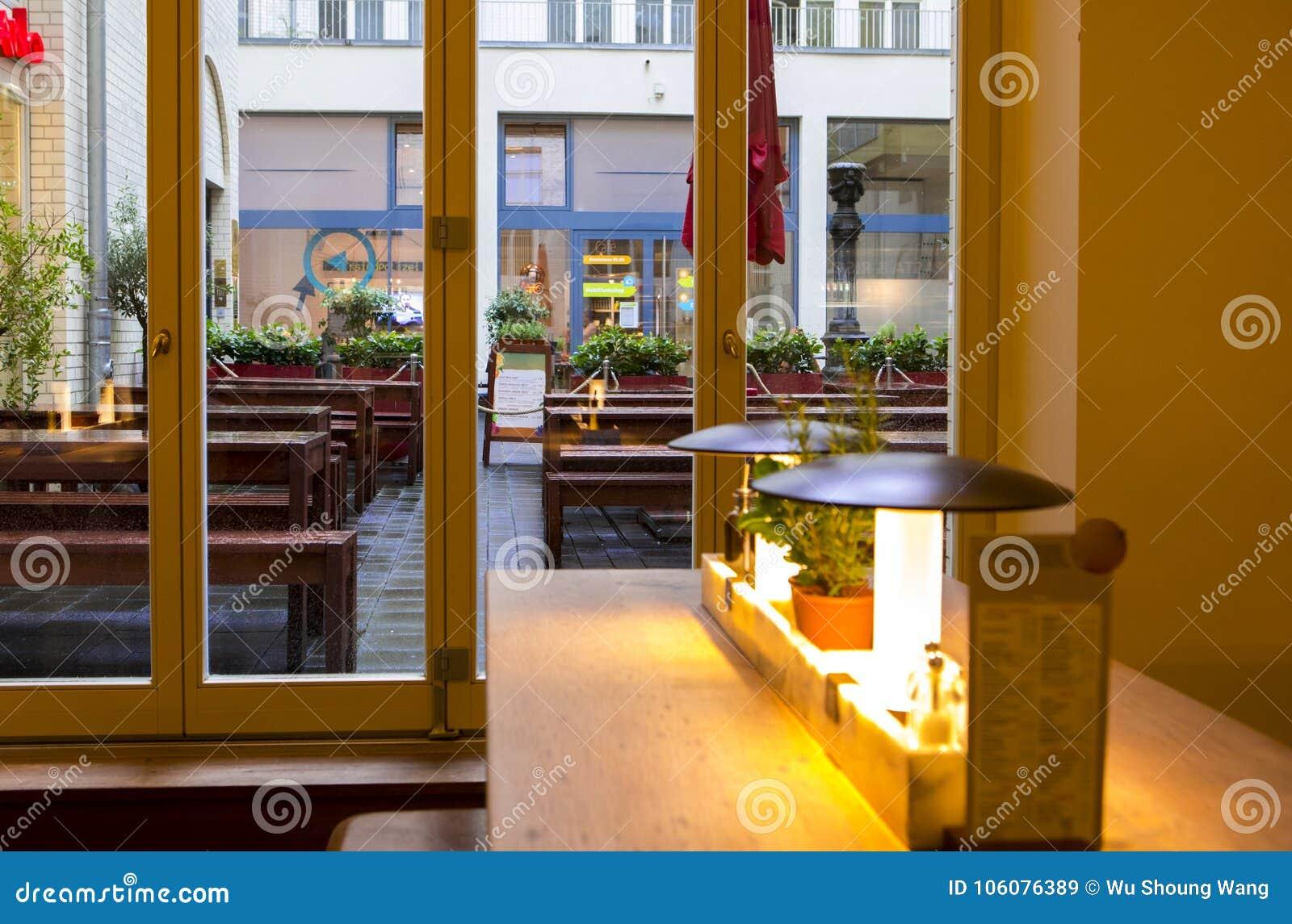 Germany Berlin Italian Restaurant Buffet Restaurant Interior Design Elegant And Warm Modern Fashion Is Very Simple Editorial Stock Image Image Of Trendy Dining 106076389