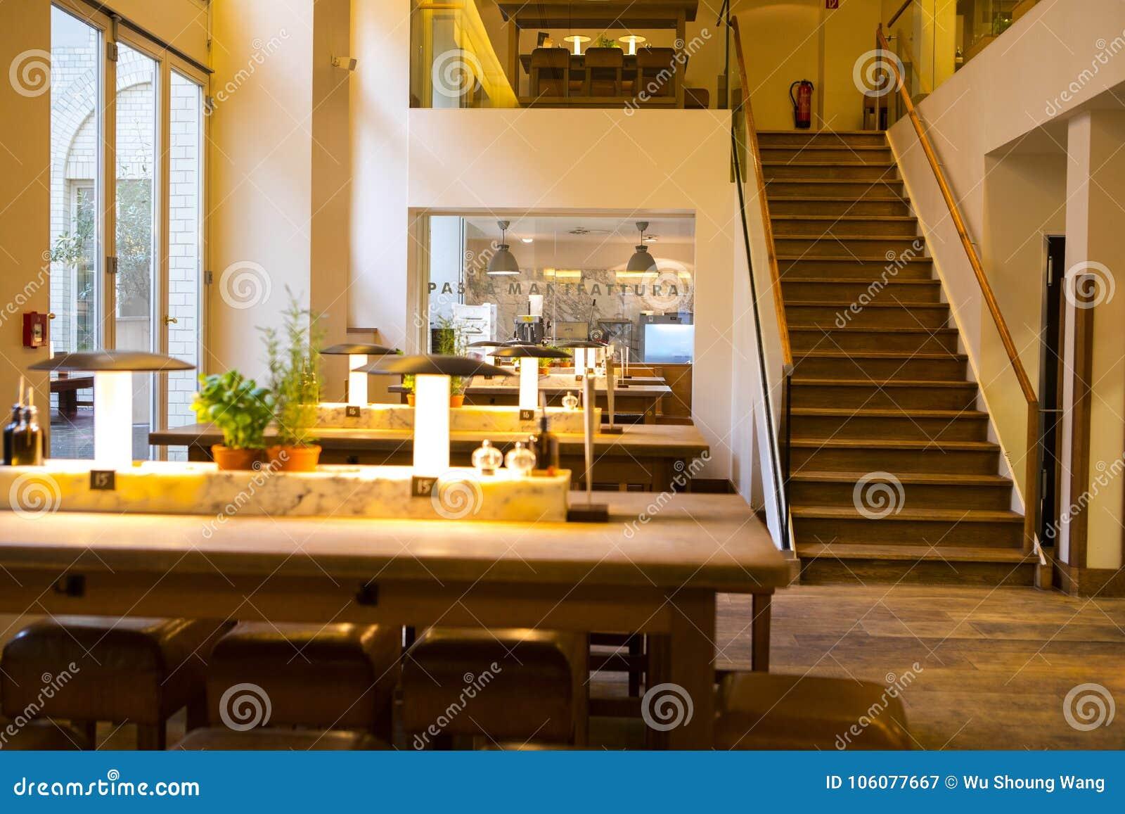 germany berlin italian restaurant buffet restaurant interior rh dreamstime com