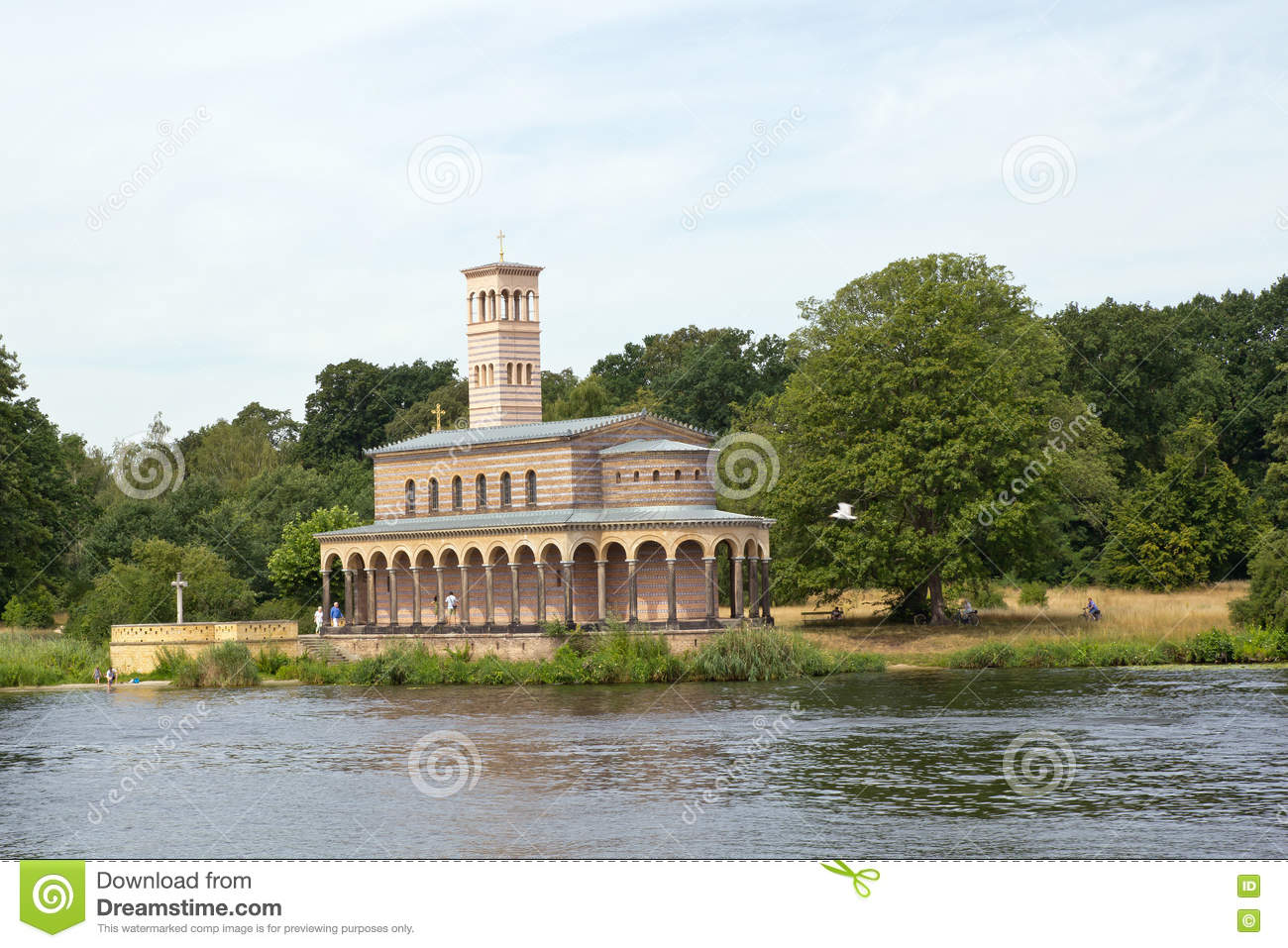 Germany, Berlin, Wannsee, Church