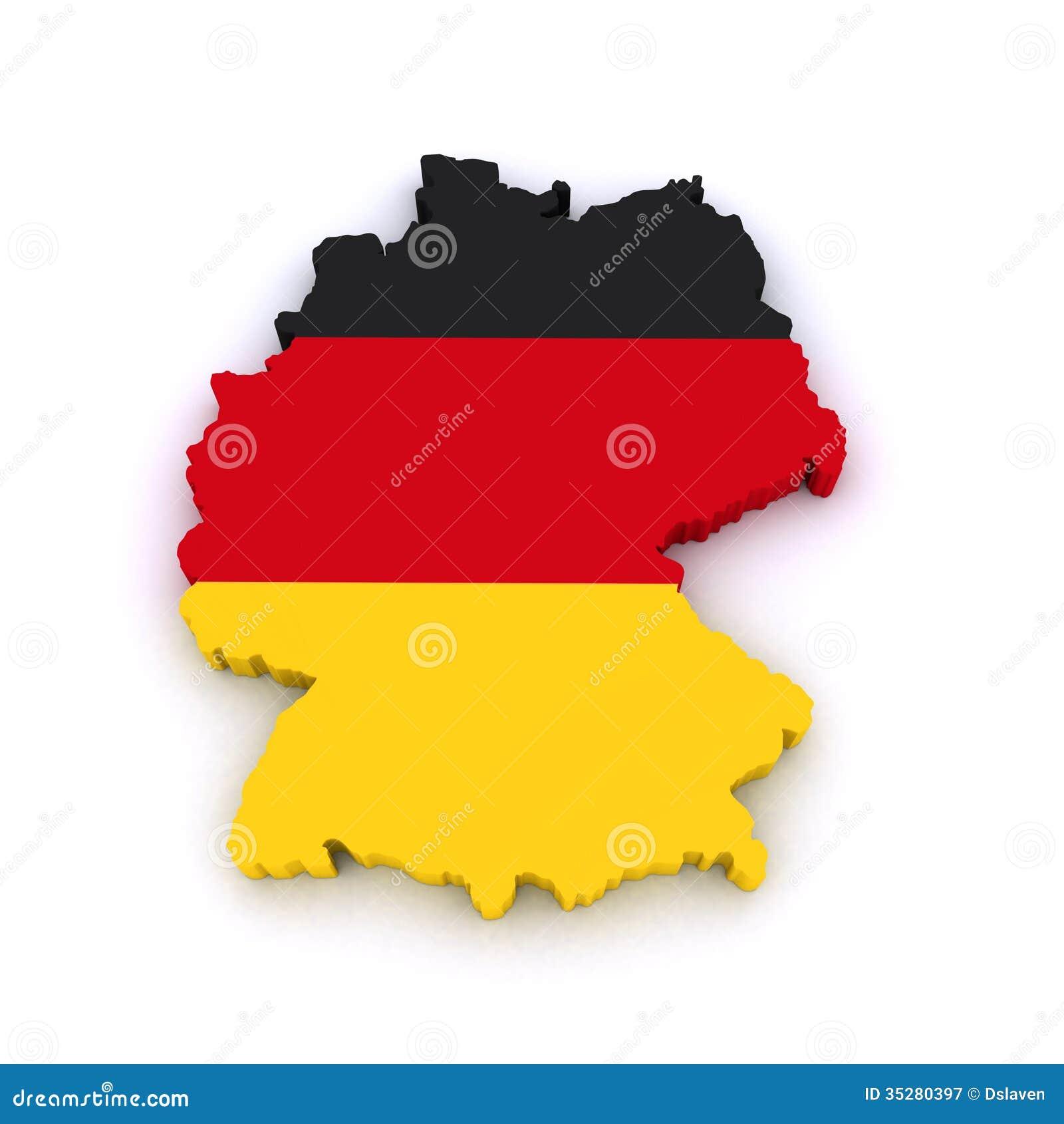 Map Of Germany 3d.Germany 3d Map Stock Illustration Illustration Of Deutschland