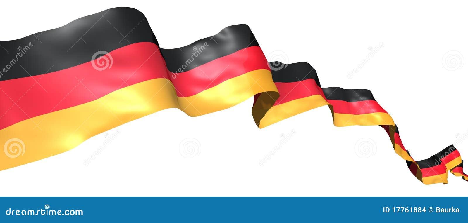 Germany Flag Ribbon St...