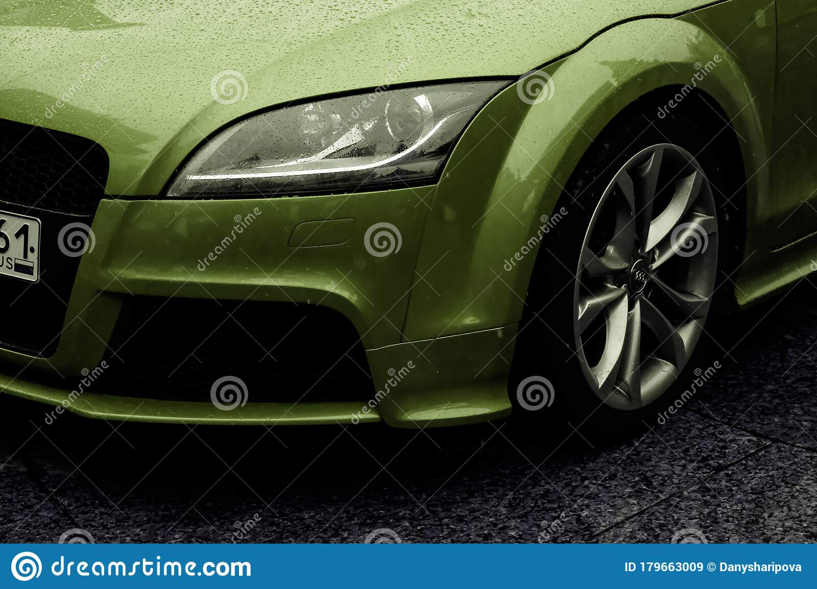 Germany Frankfurt 10 September 2019 Green Audi Tt Rs Coupe S Tronic Detail View Of Steering Wheel With Controls Editorial Stock Image Image Of Auto Automobile 179663009