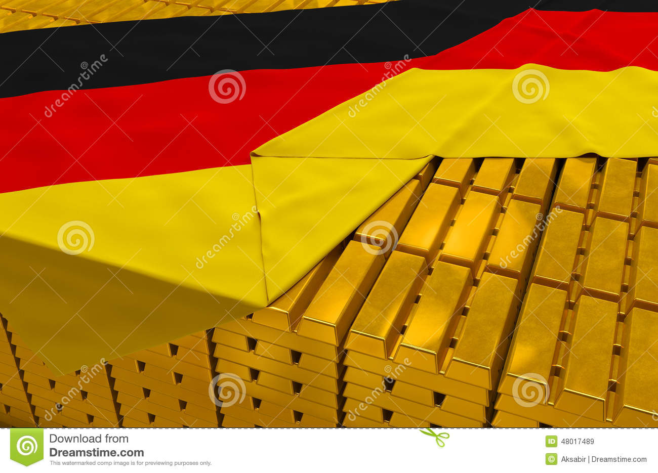Germany gold reserve stock