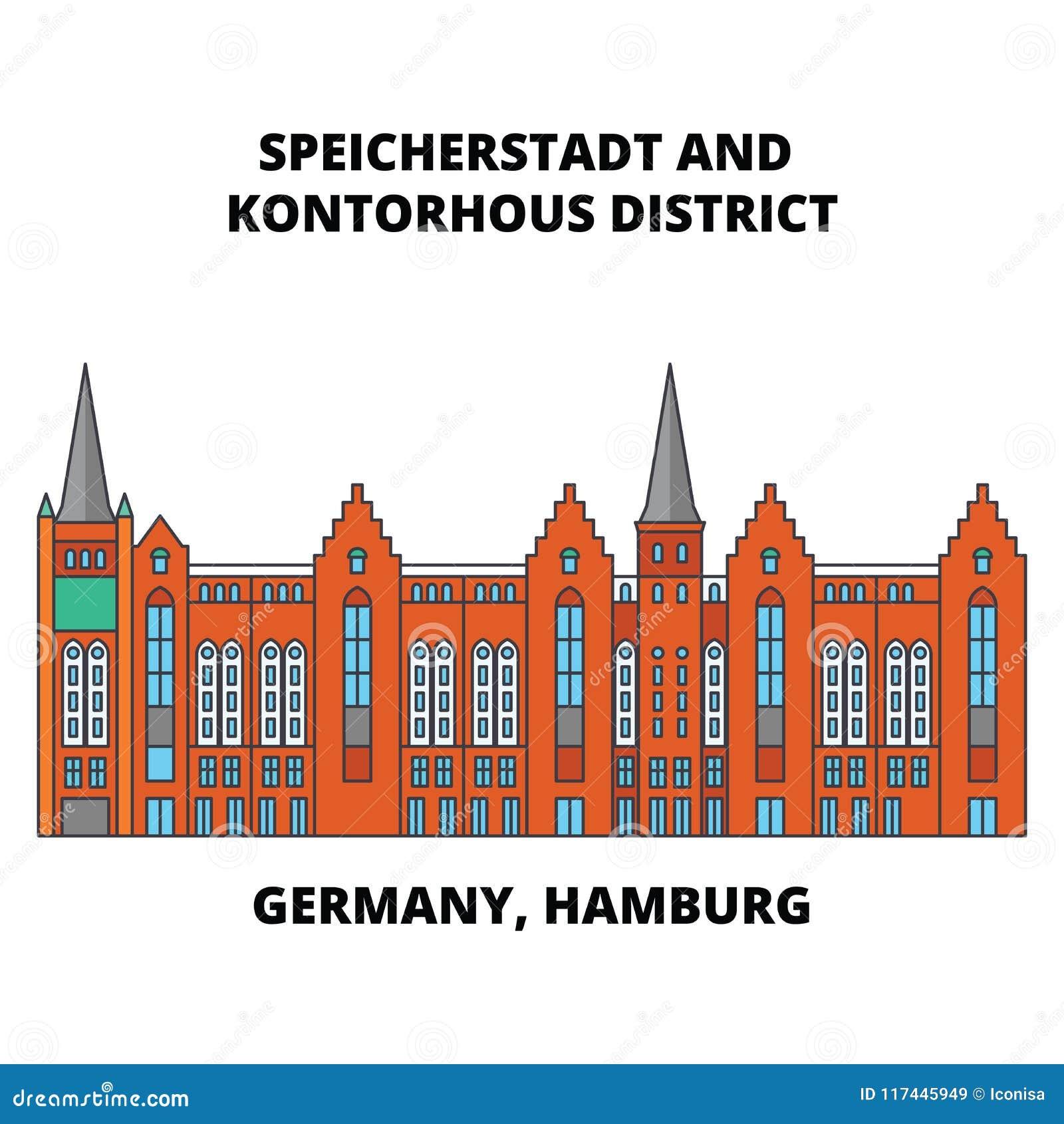 Government District Line Wiring Diagrams Colorsensorcircuit Light Sensor Circuitclick For Next Circuit Germany Hamburg Speicherstadt Icon Concept Rh Dreamstime Com Dc In Kansas City Mo