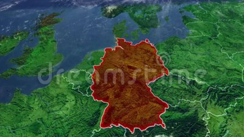 Map Of Germany Mountains.Germany Map And Borders Central Europe