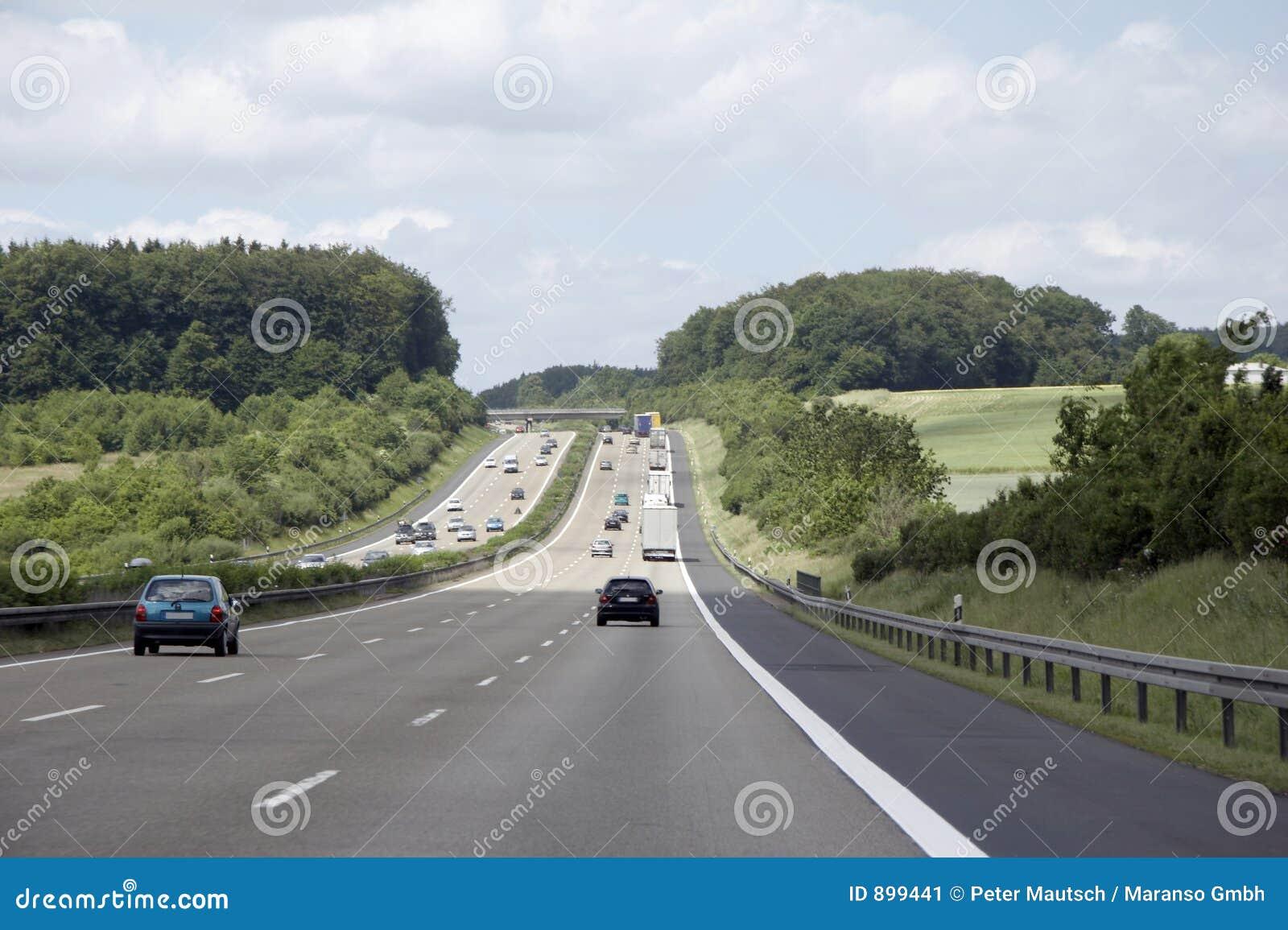 Germany motorway