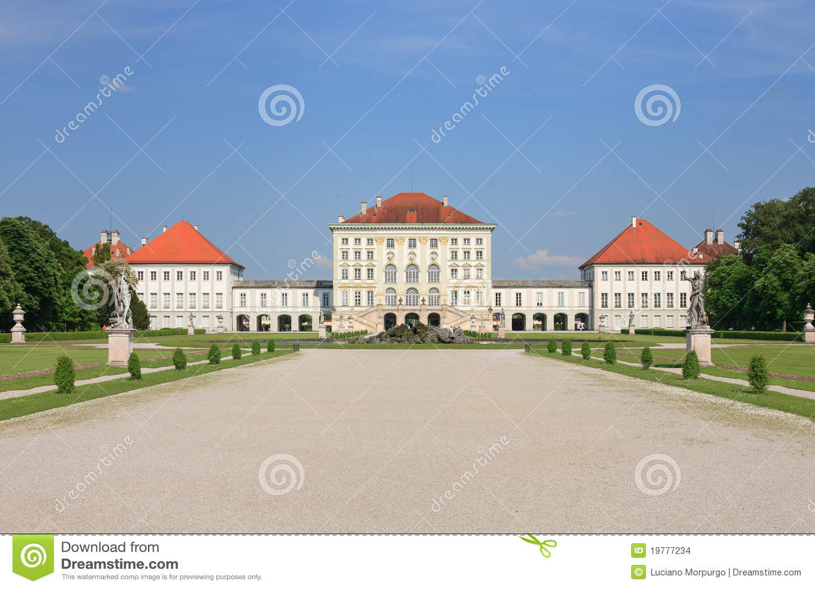 Germany munich nymphenburgslott