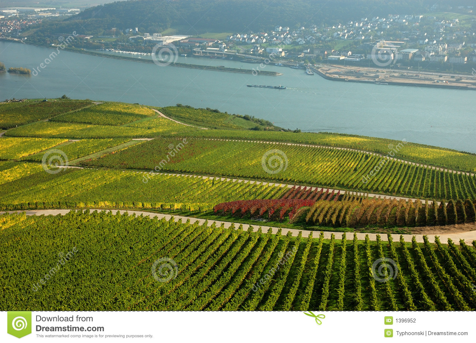 Germany rhine flod