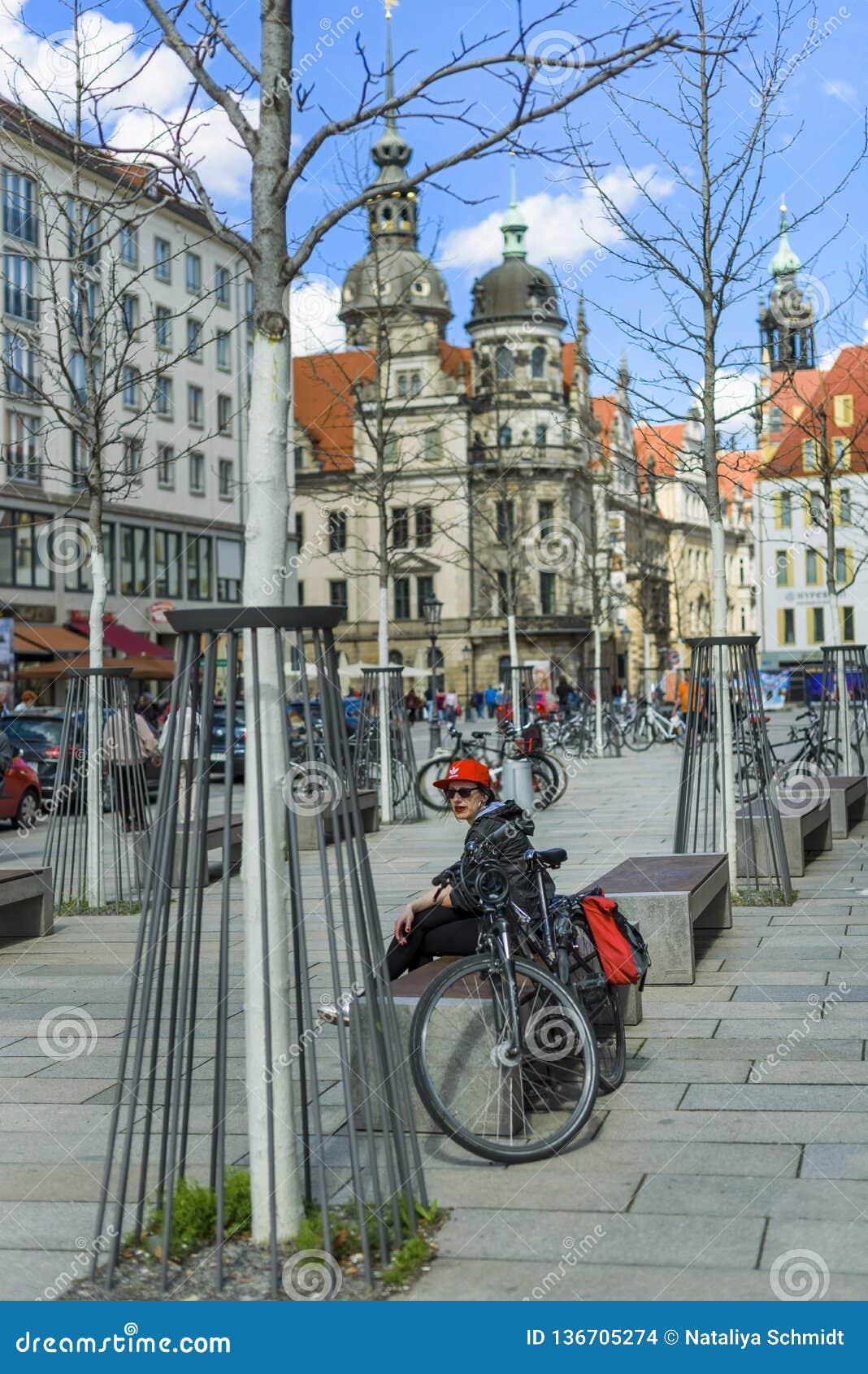 Germany. Saxony. Spring in Dresden