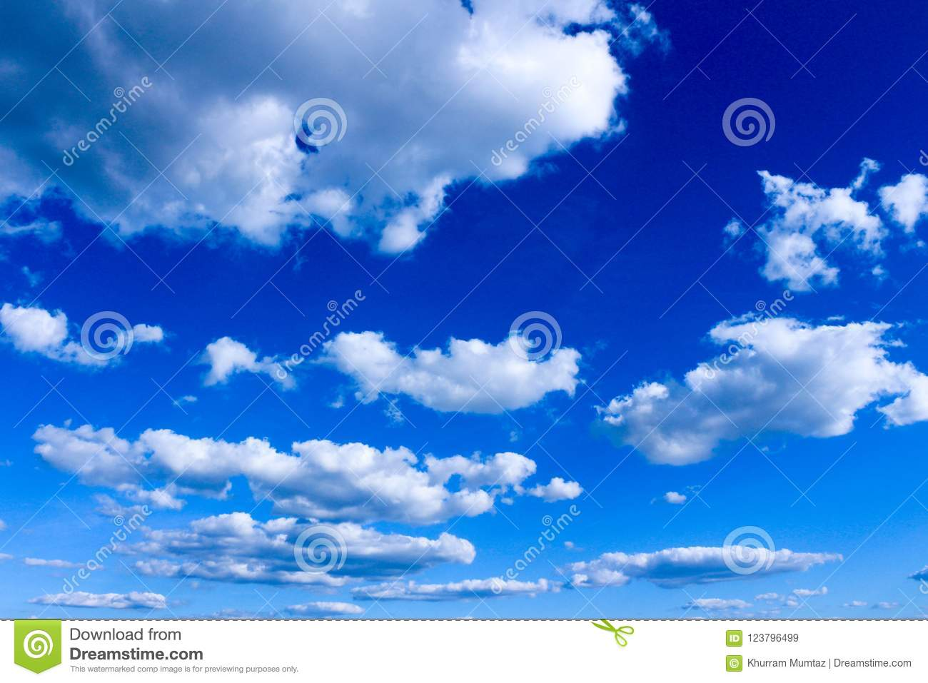 Germany sky overcast with clouds, blue sky with fainted and dispersed clouds
