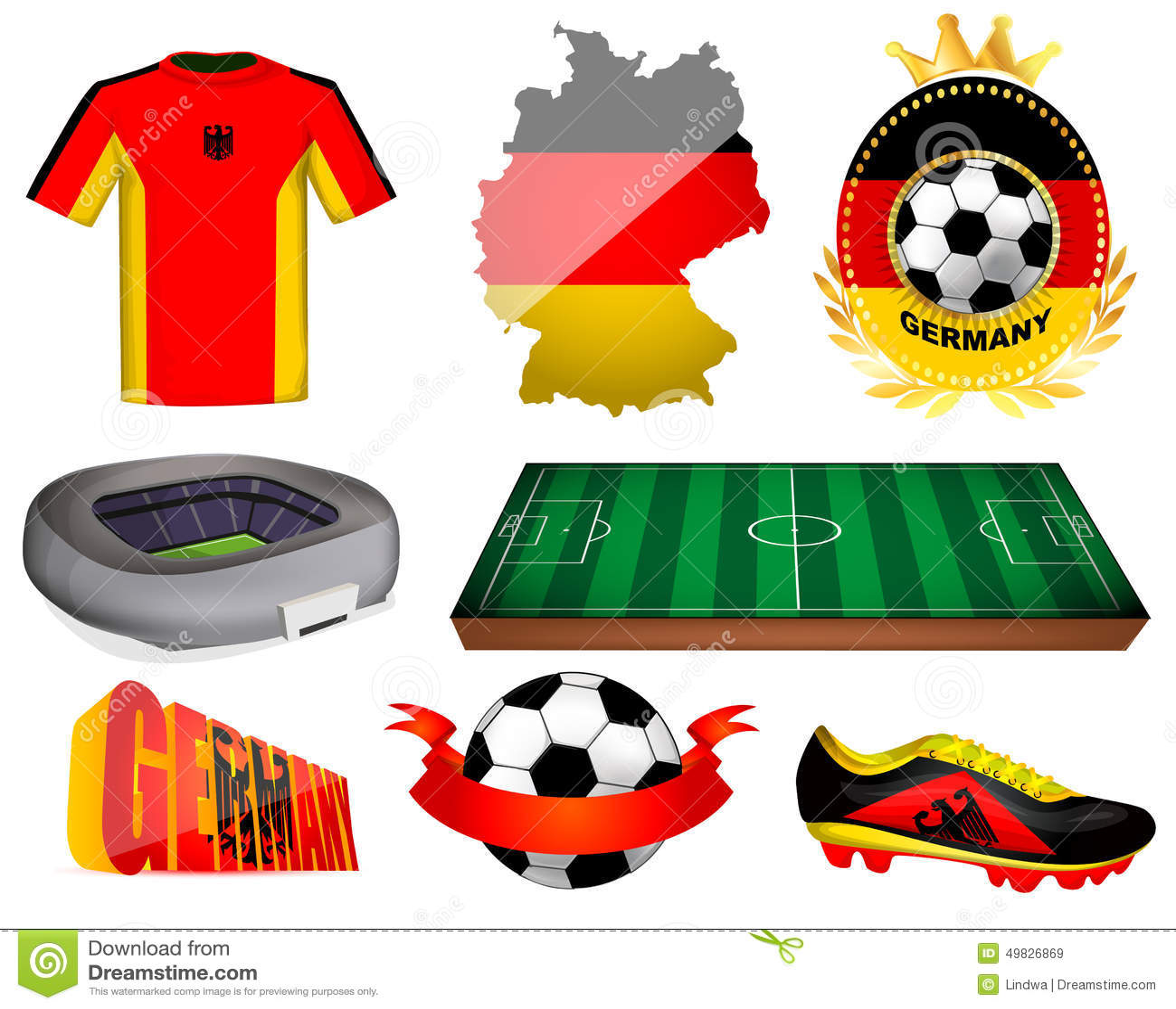 German Football Team Logo - Vector Download