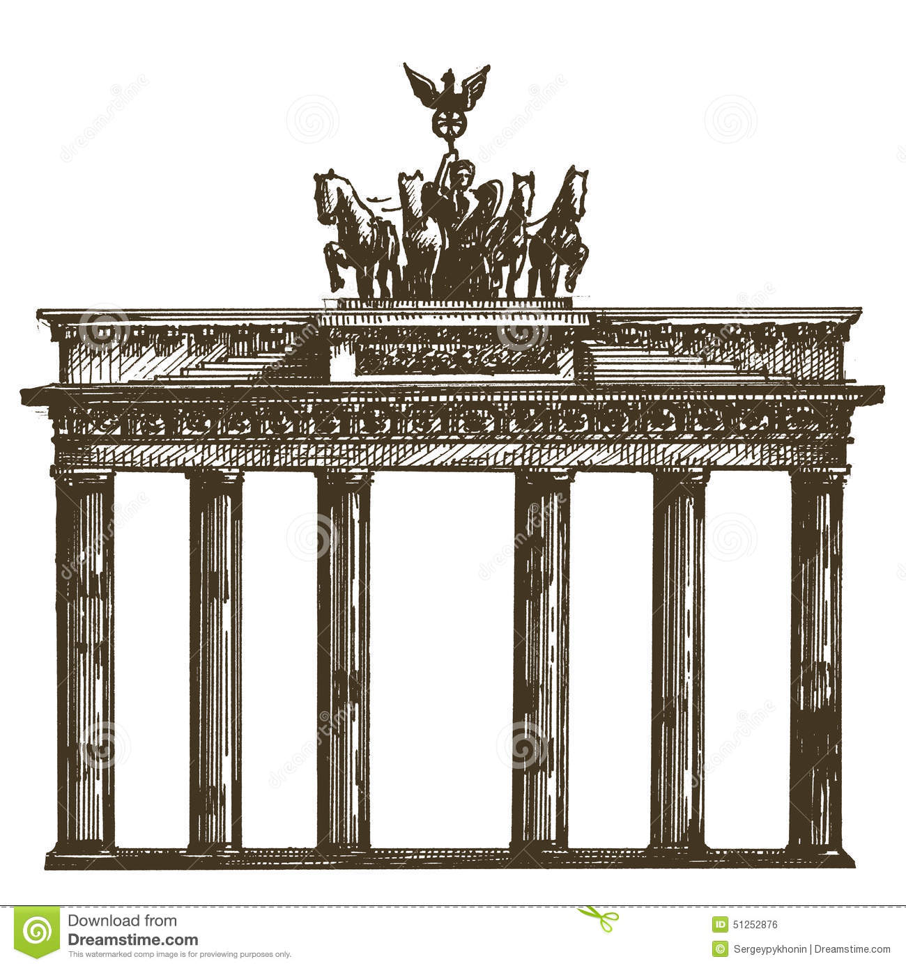 Germany Vector Logo Design Template Architecture Stock