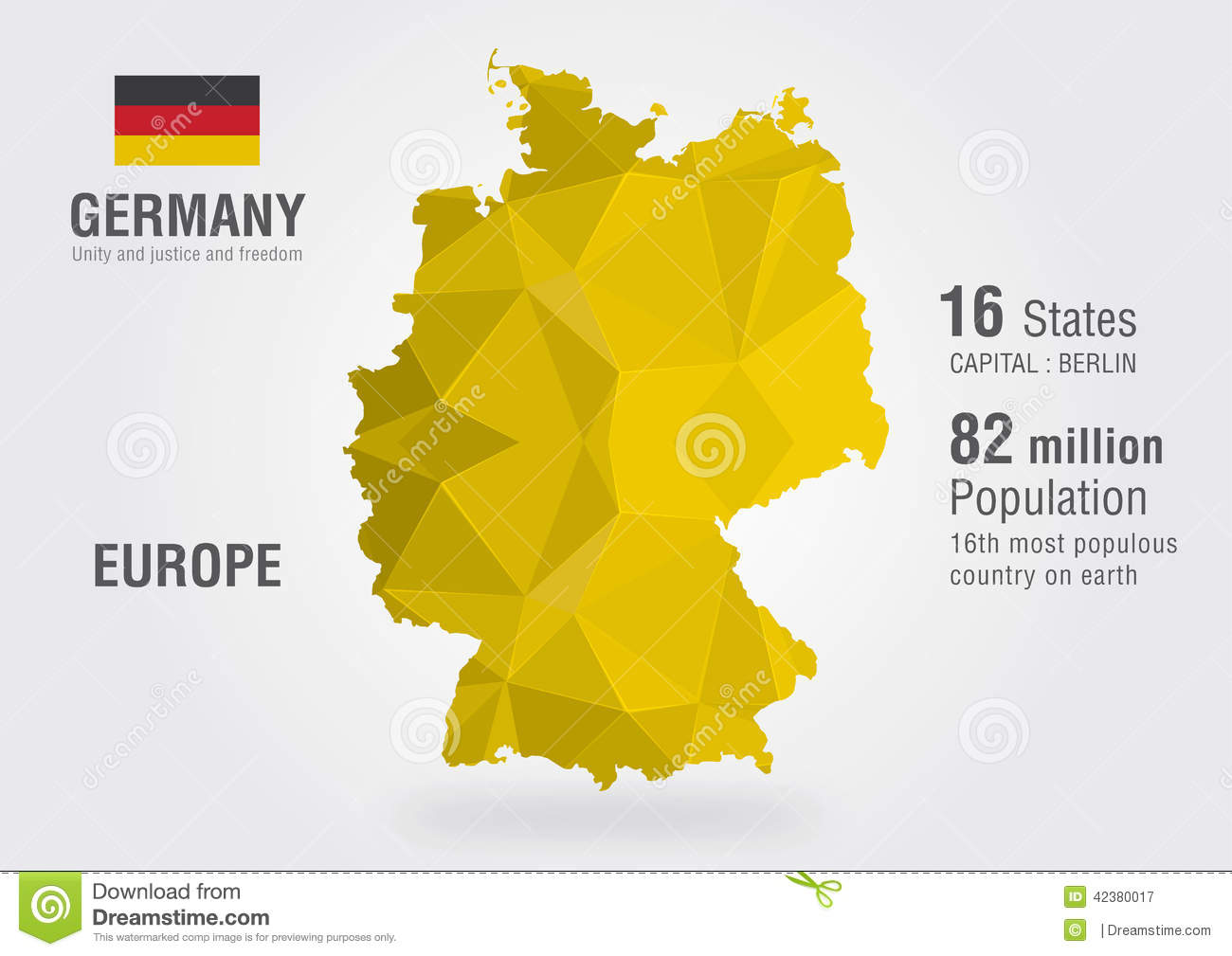 Germany Map Stock Photos - Royalty Free Pictures