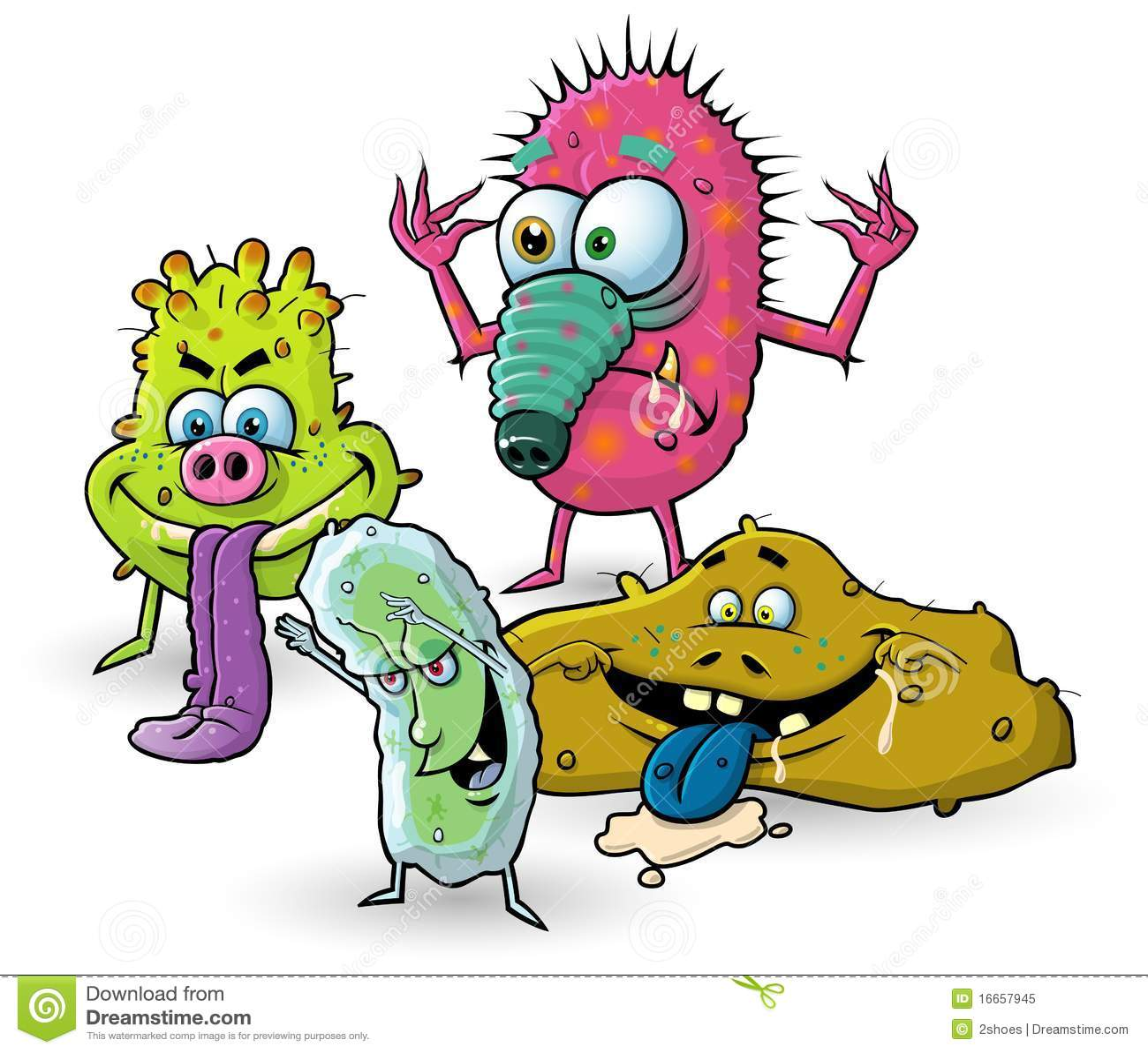 Foto de stock royalty free germes dos desenhos animados vírus