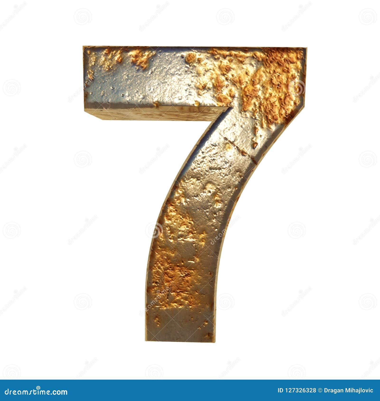 Geroest metaal nummer 7
