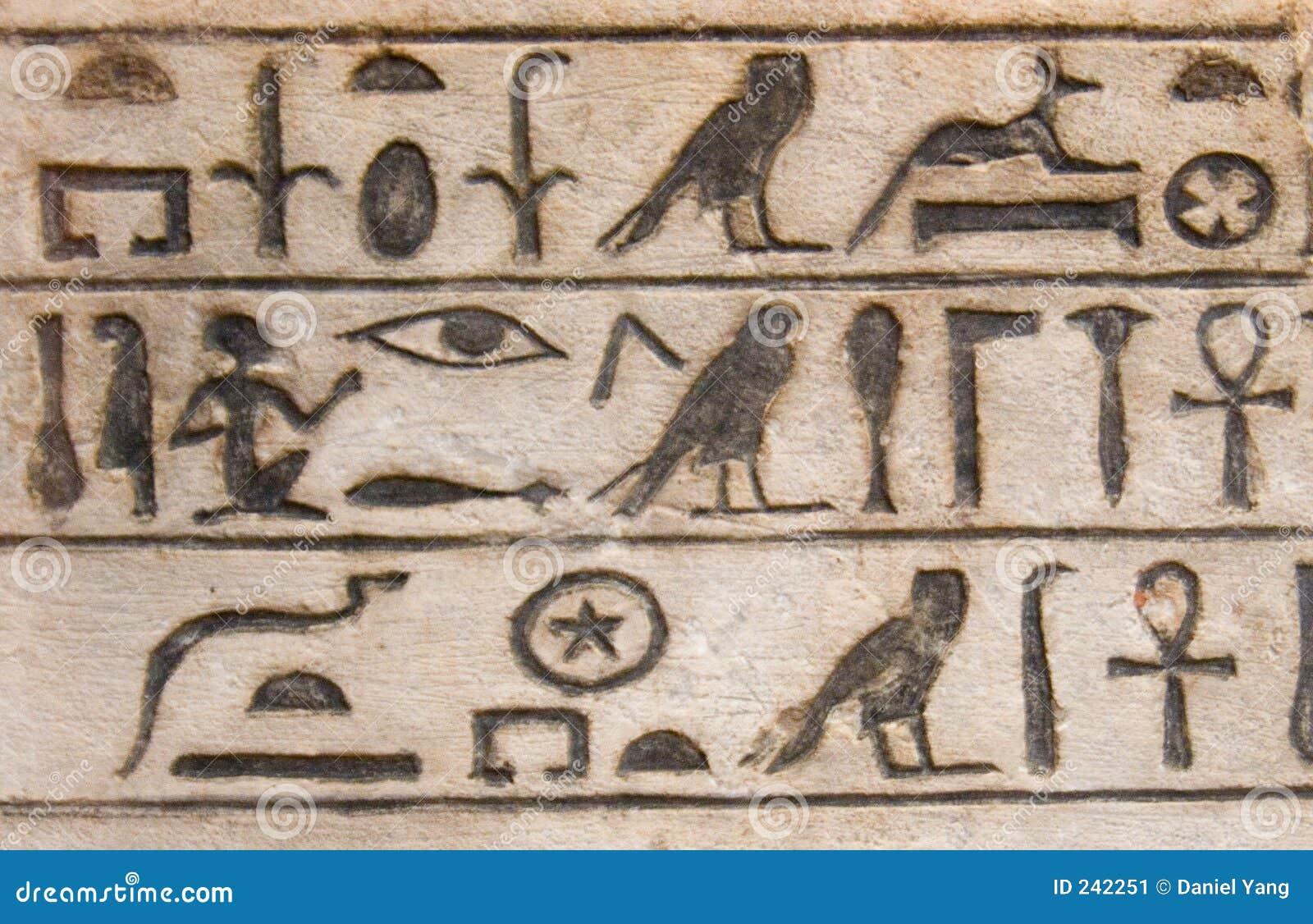 Geroglifici egiziani