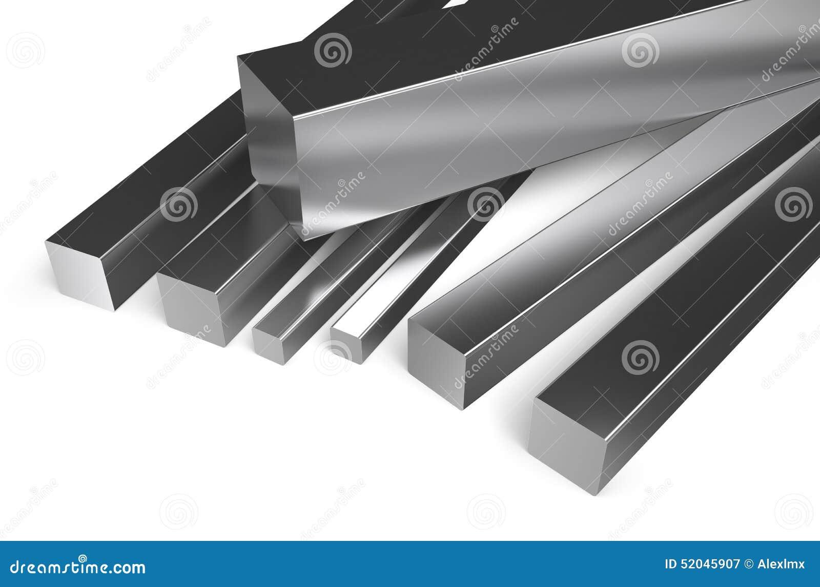 Gerold metaal, vierkante voorraad 2
