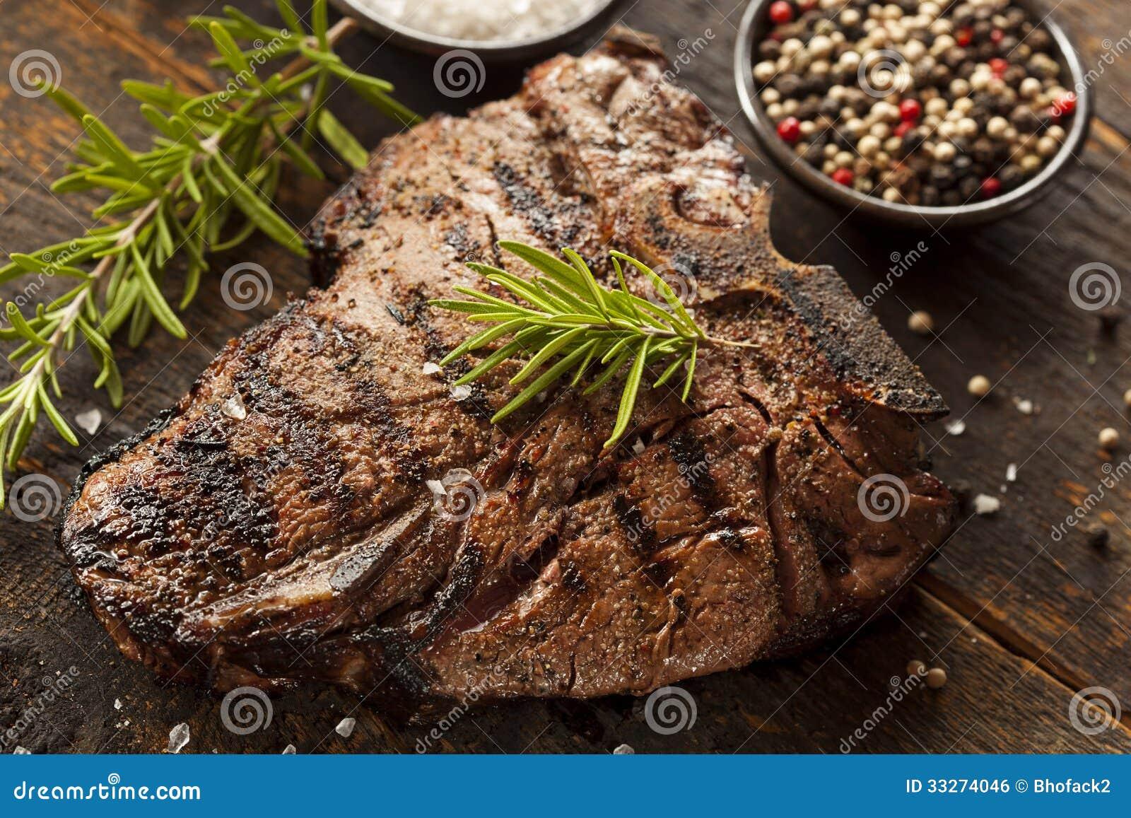 Geroosterd BBQ Riblapje vlees