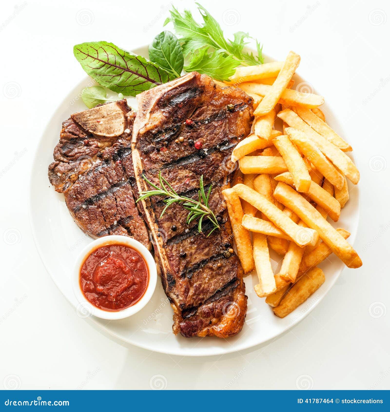 Geroosterd die riblapje vlees met rozemarijn wordt gekruid stock foto afbeelding 41787464 - Hoek maaltijd ...
