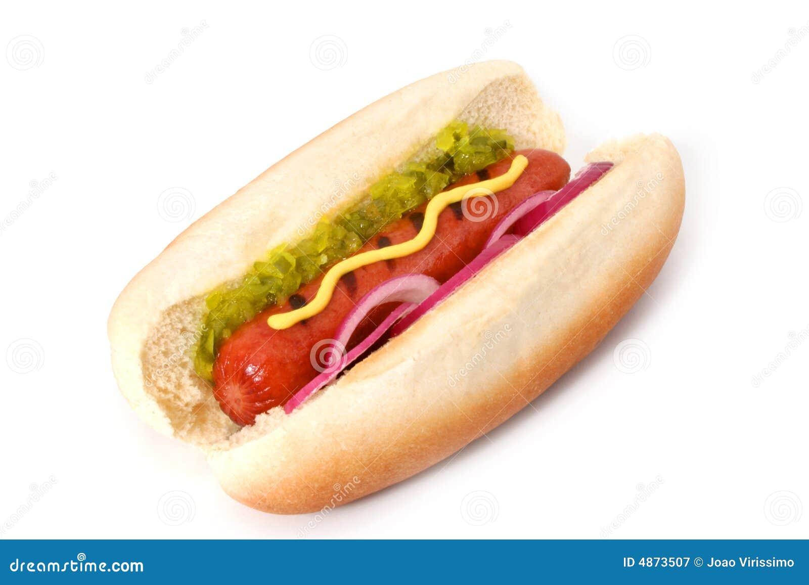 Geroosterde Hotdog