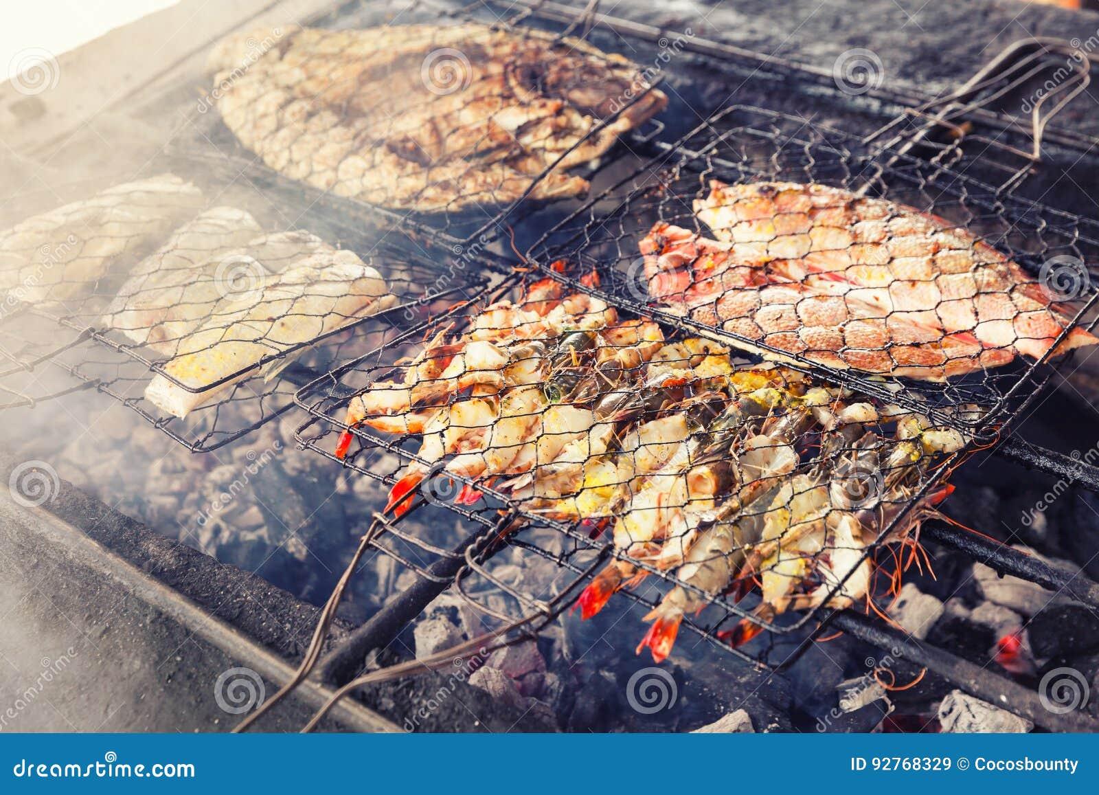 octopus op de barbecue